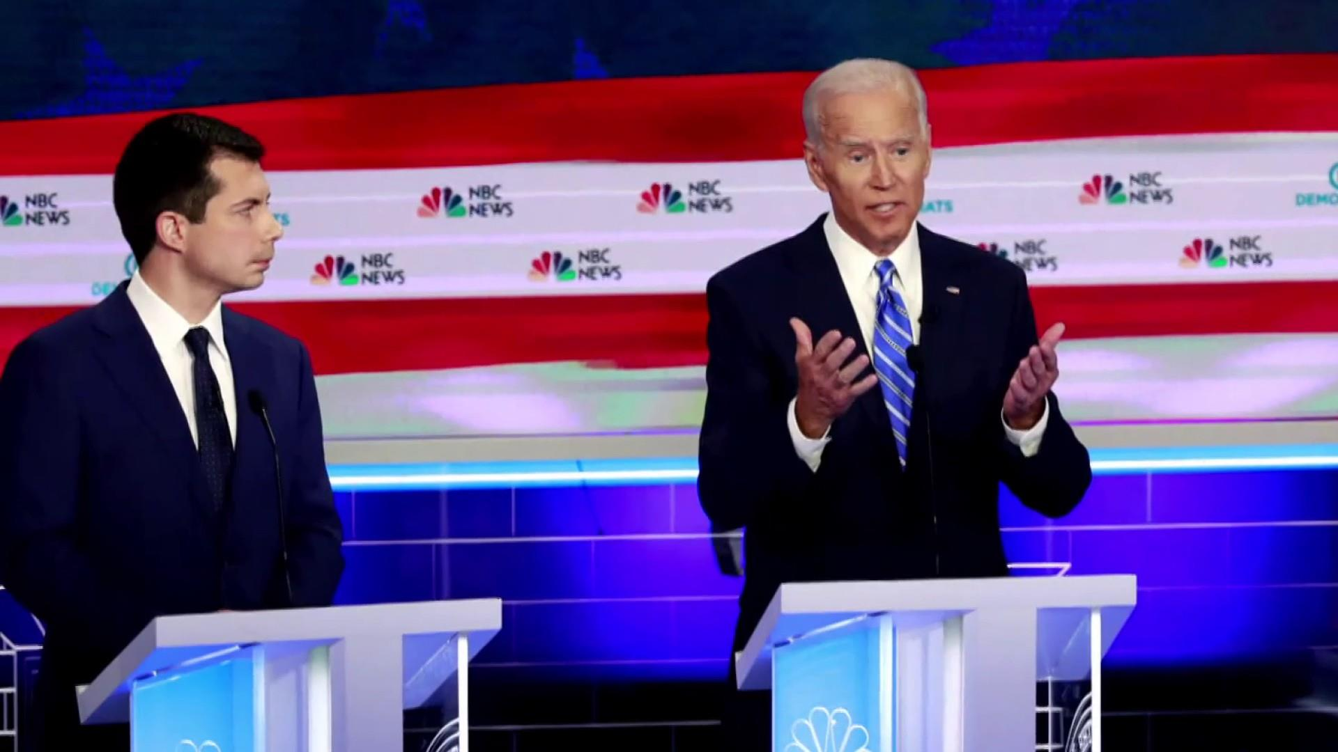 Biden looks to set civil rights record straight after being questioned in first debate