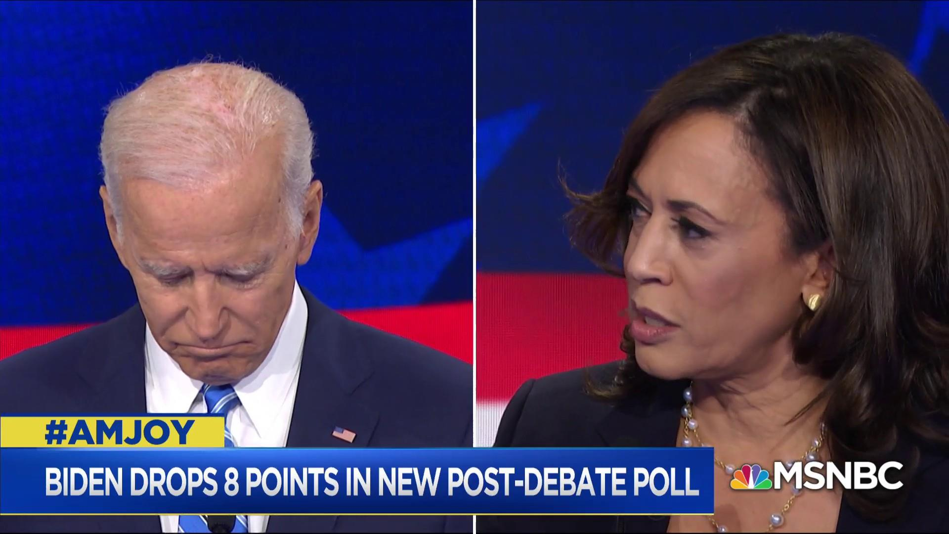 Joe Biden and Kamala Harris spar over busing and school desegregation