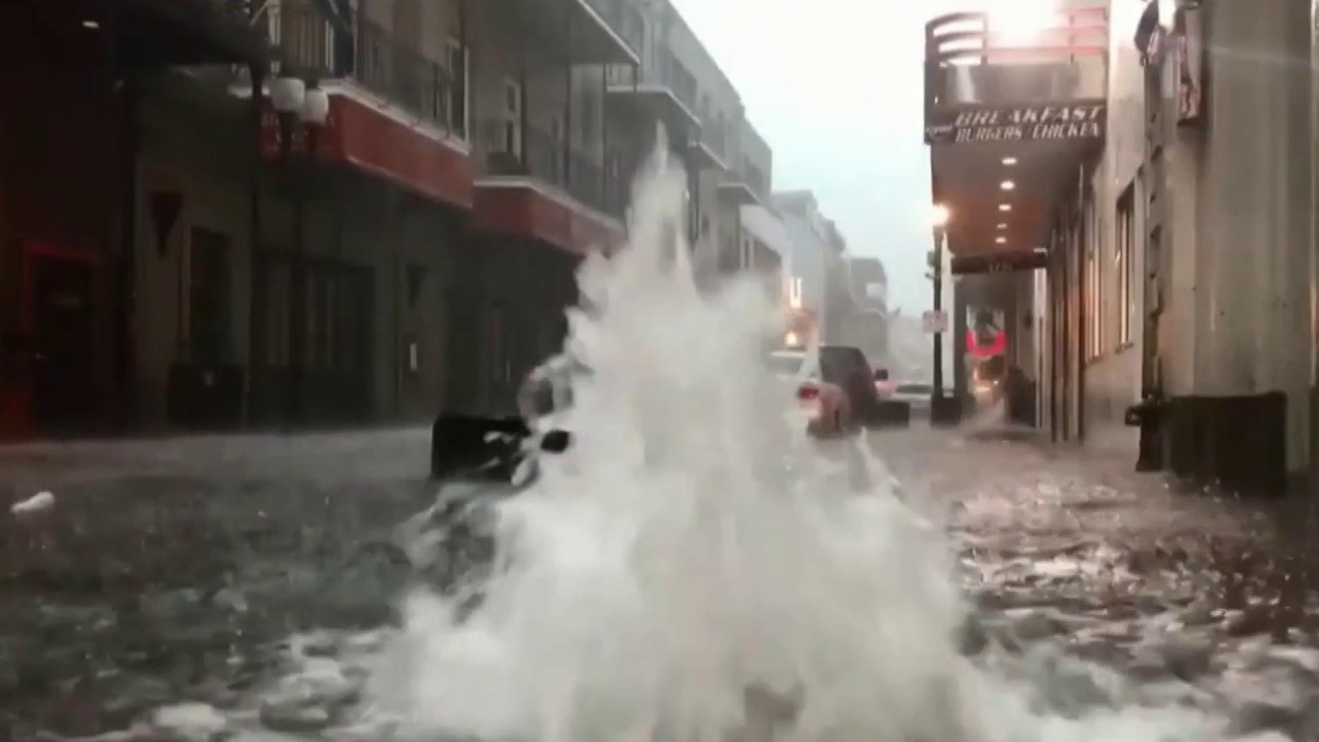 Climate change linked to intense storms like Hurricane Barry
