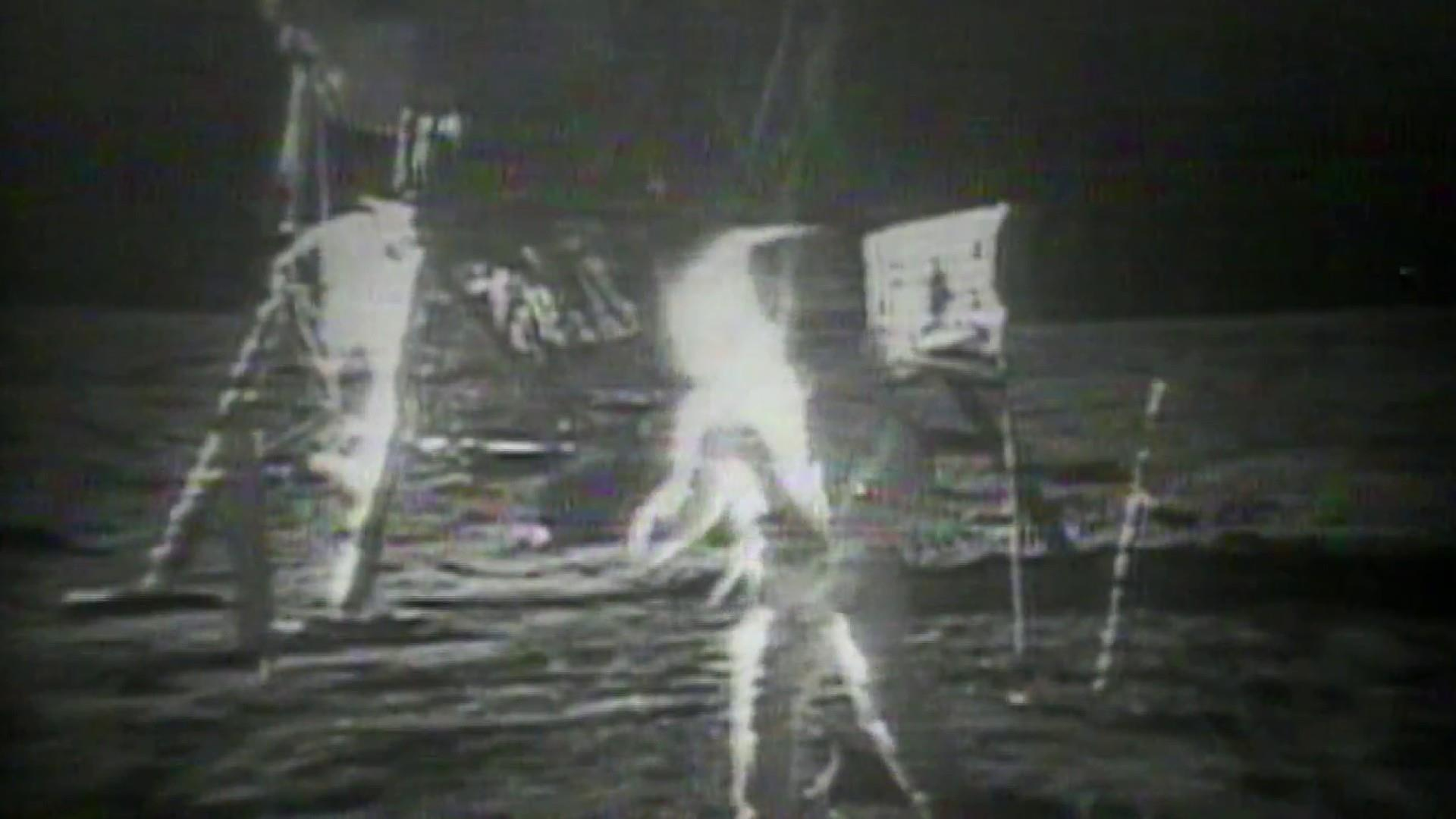Apollo 11 moon landing commemorated 50 years later