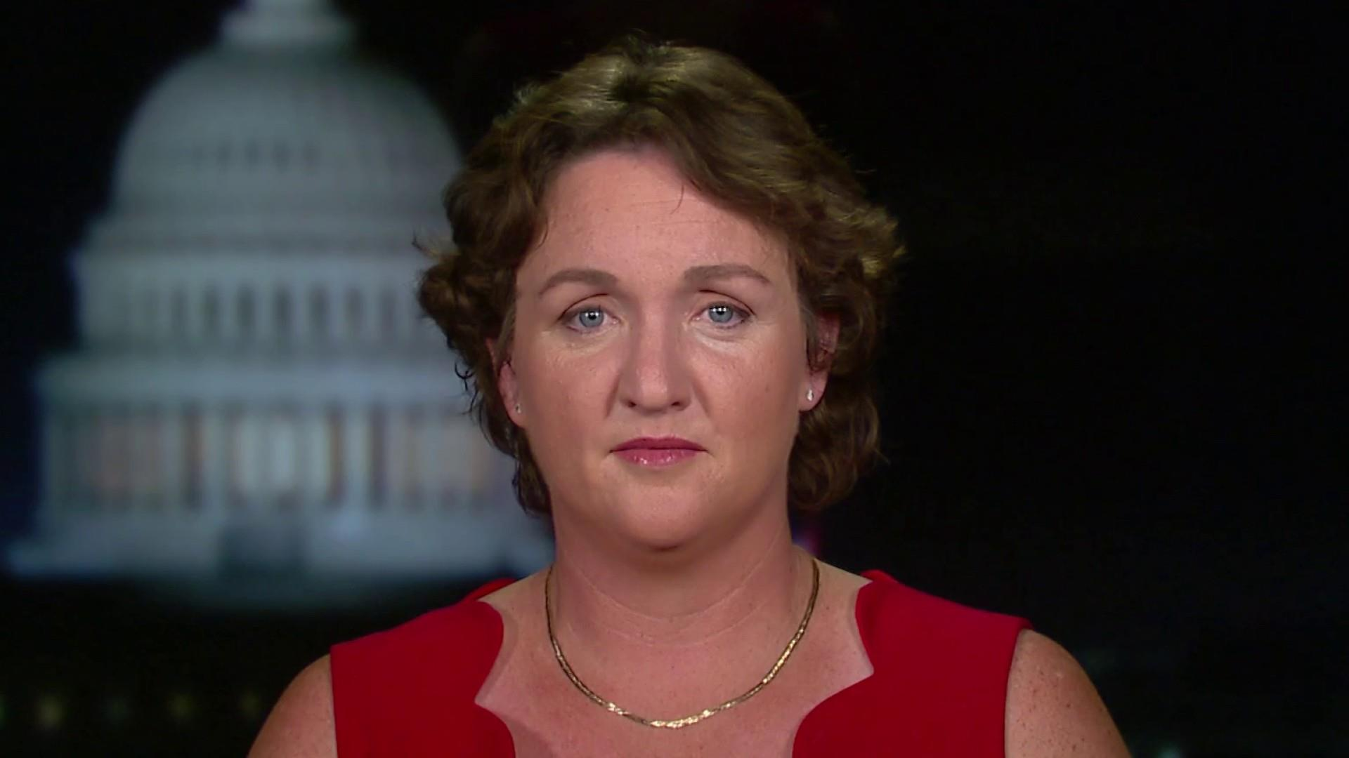 Rep. Katie Porter challenging big business on fair pay