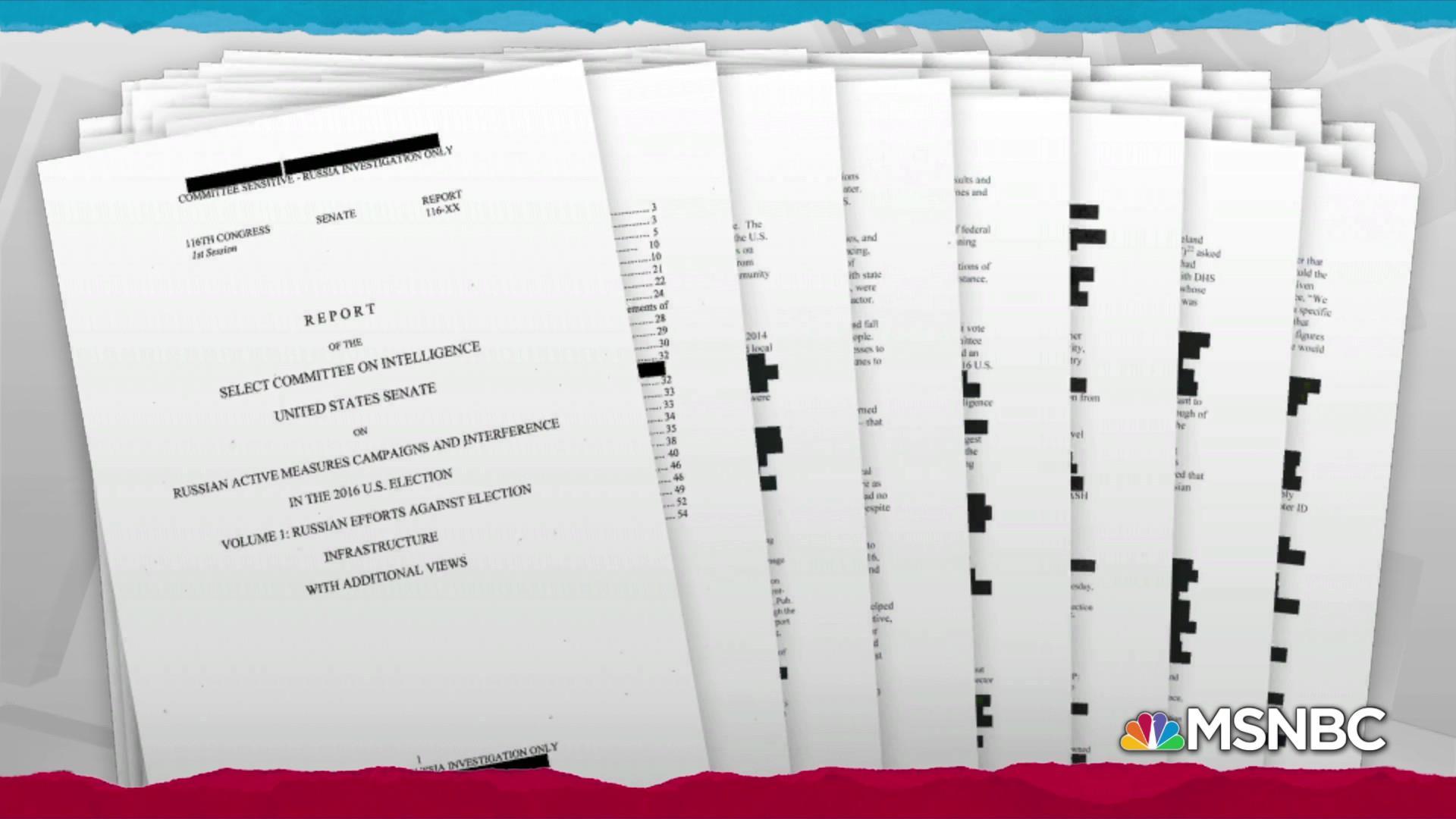 Senate Intel report validates Mueller on Russia election attack