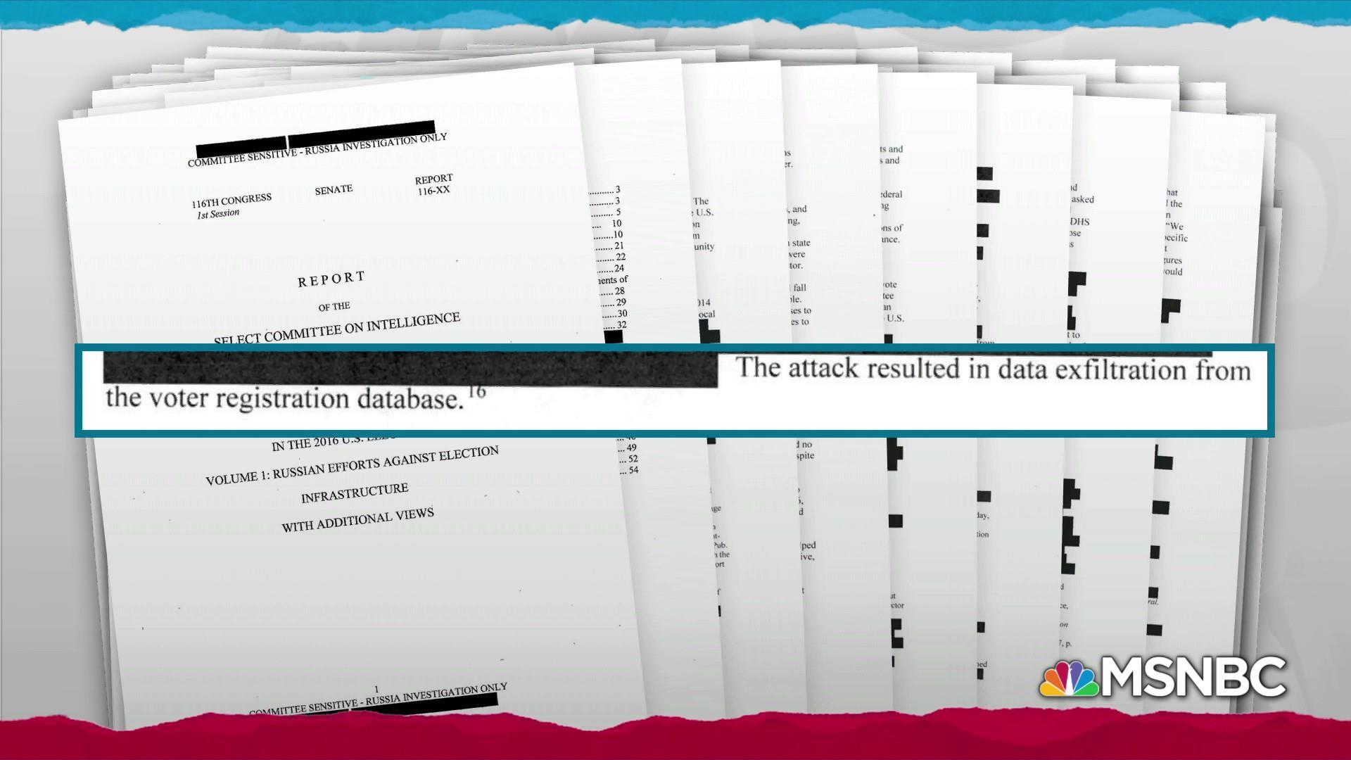 Russian hackers accessed U.S. voter data: Senate report