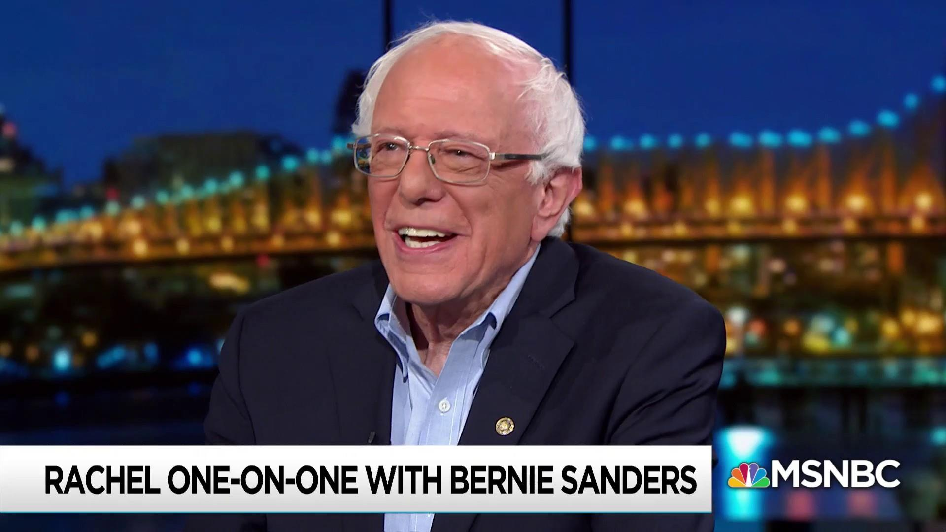 Sanders deeply satisfied to see his 2016 ideas in 2020 candidates