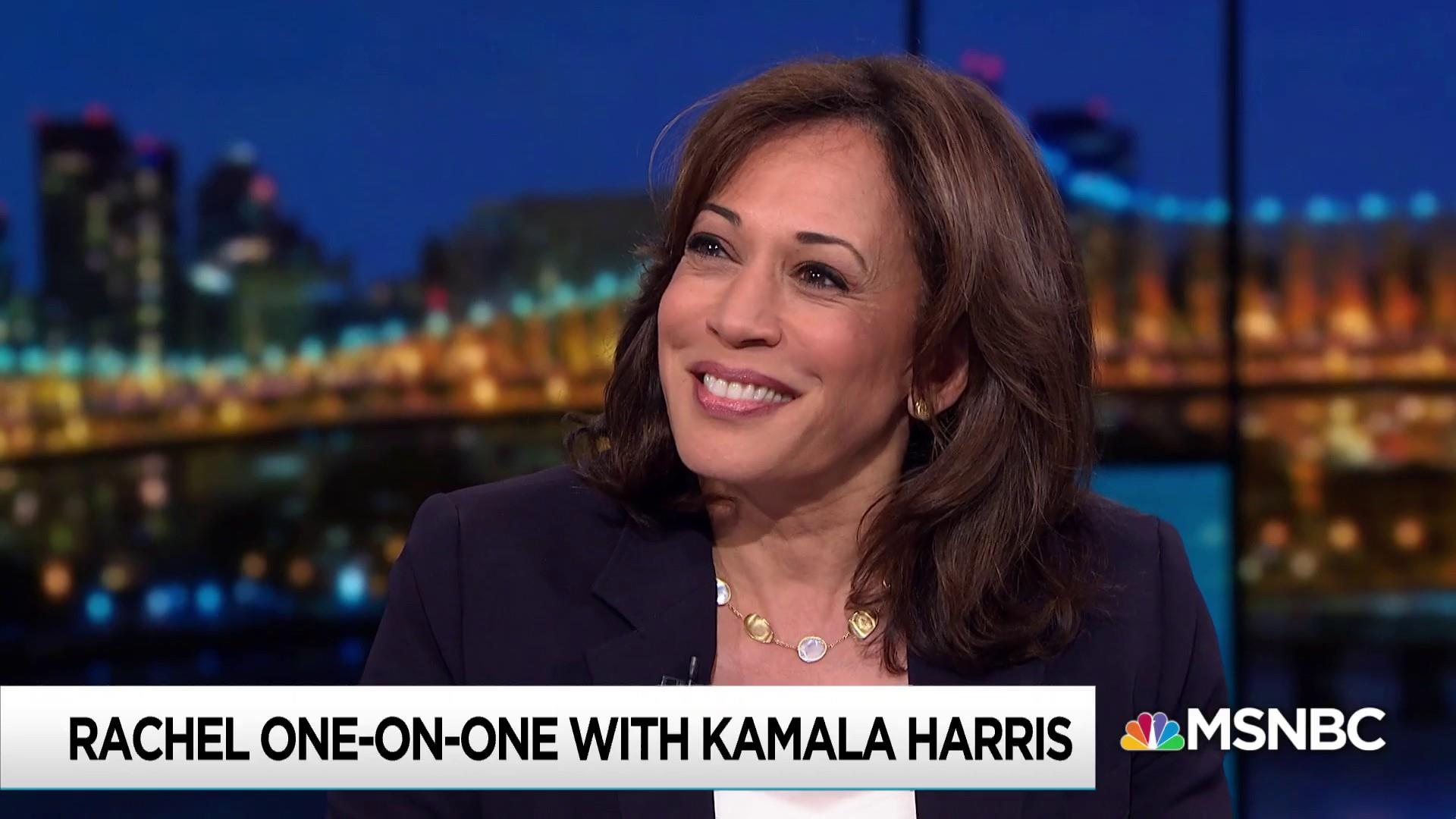 Harris takes post-debate success, attacks in stride