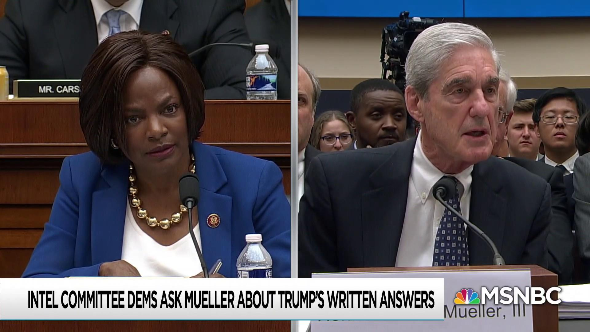 Mueller: Trump wasn't always being truthful in his answers