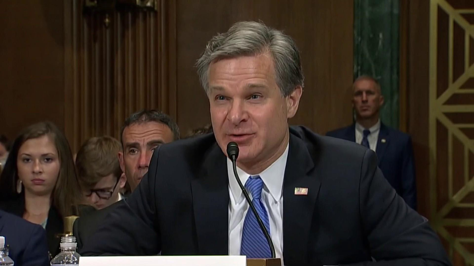 FBI Director Wray not particularly attentive to Mueller findings