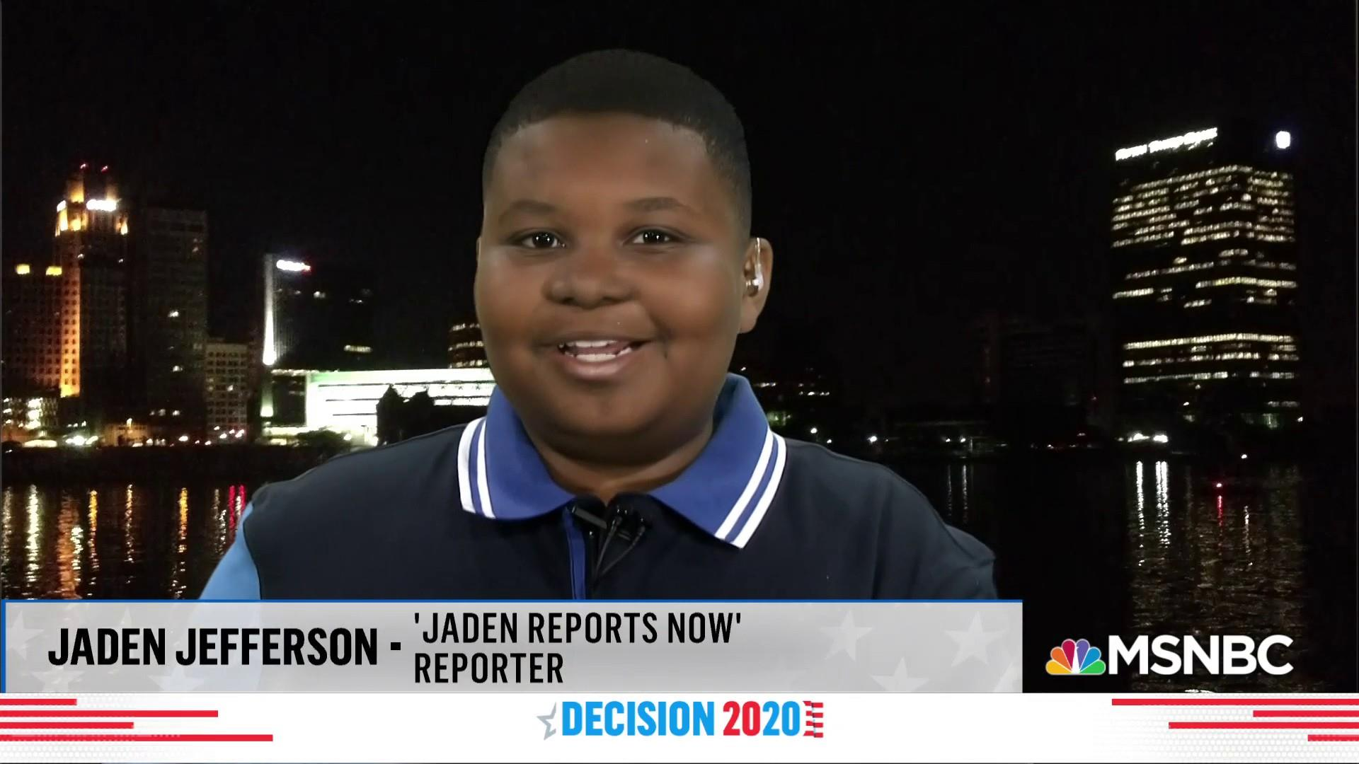 11-year-old takes political media world by storm