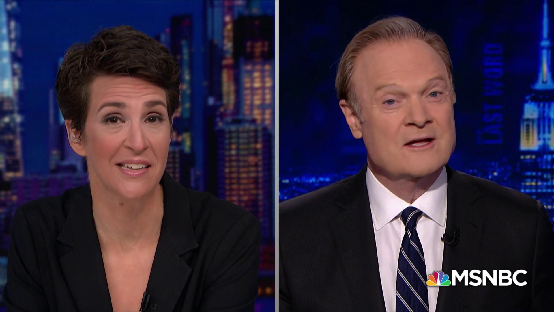 Maddow: 'It's a dark time with the president leading this way'