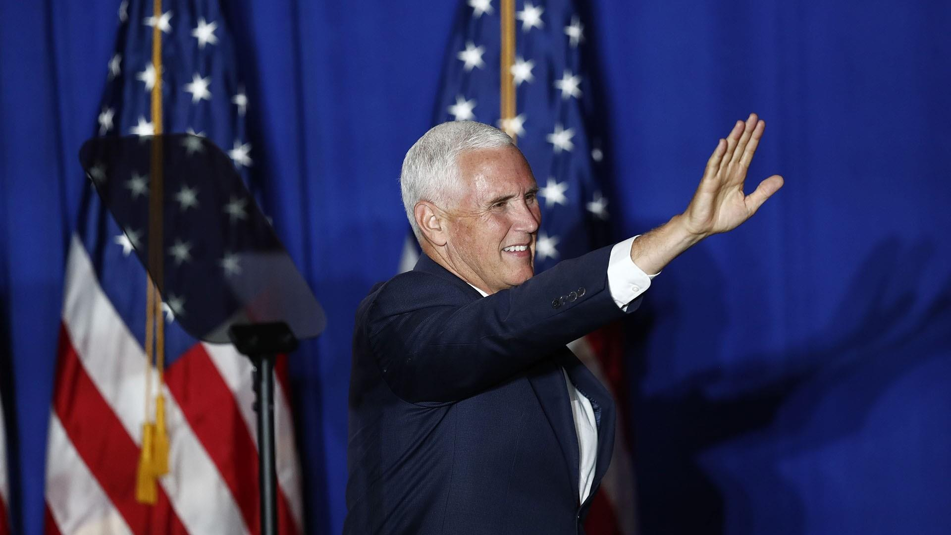 Pence cancels New Hampshire appearance to remain in Washington