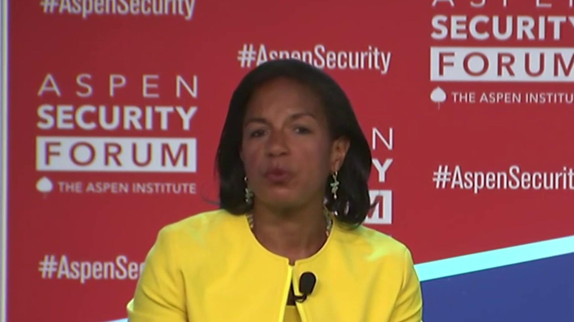 Susan Rice: President Trump has increased likelihood of conflict with Iran