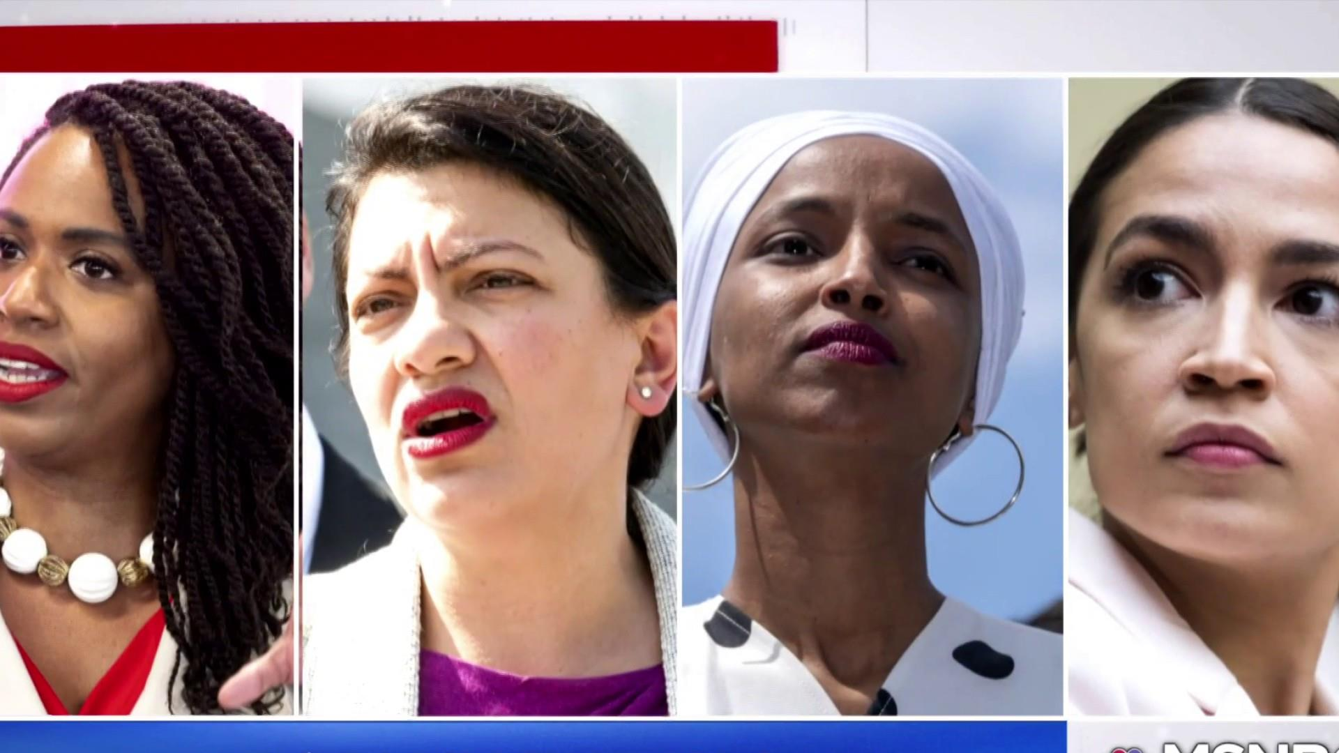 Trump: Dem Congresswomen of color need to 'go back' to home countries