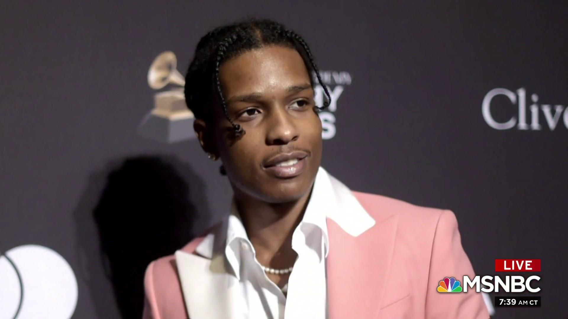Members of Congress call for release of ASAP Rocky