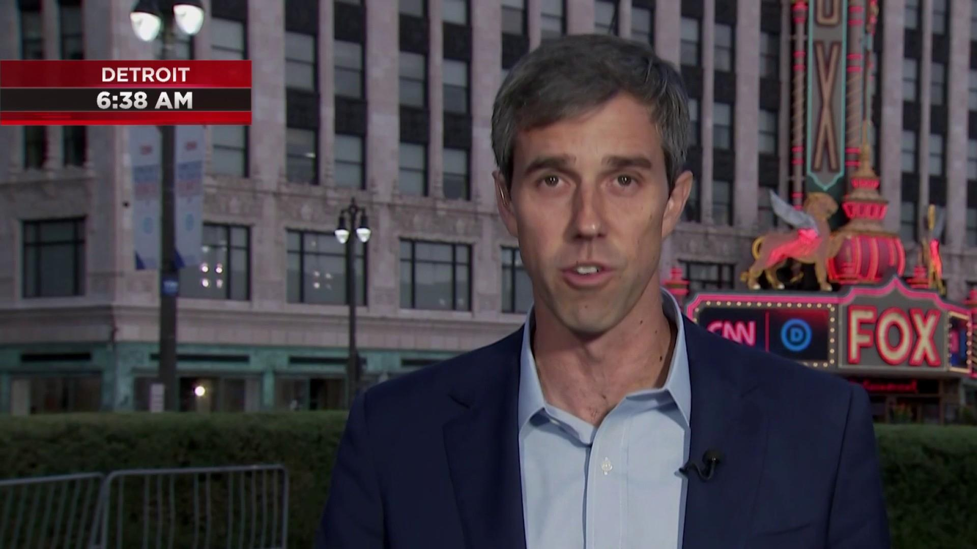 Beto weighs in on debate and new poll numbers