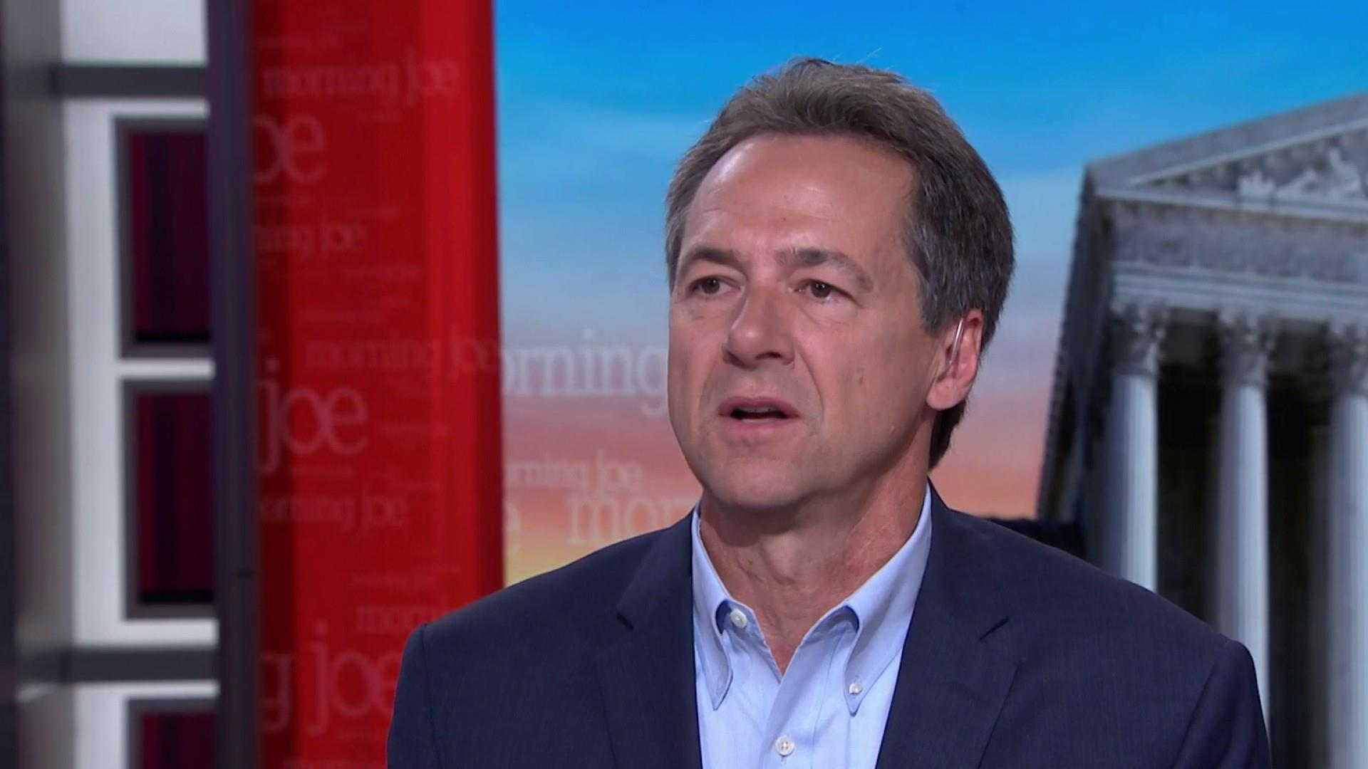 Gov. Bullock preps for debate, takes aim at Iowa