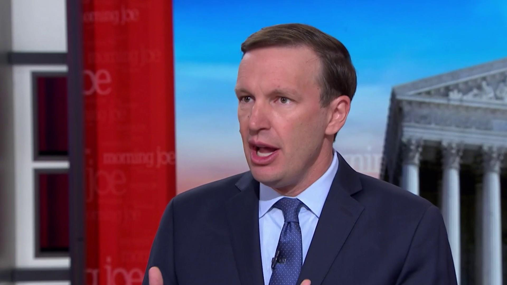 Sen. Murphy unfollows Trump on Twitter over 'negativity'