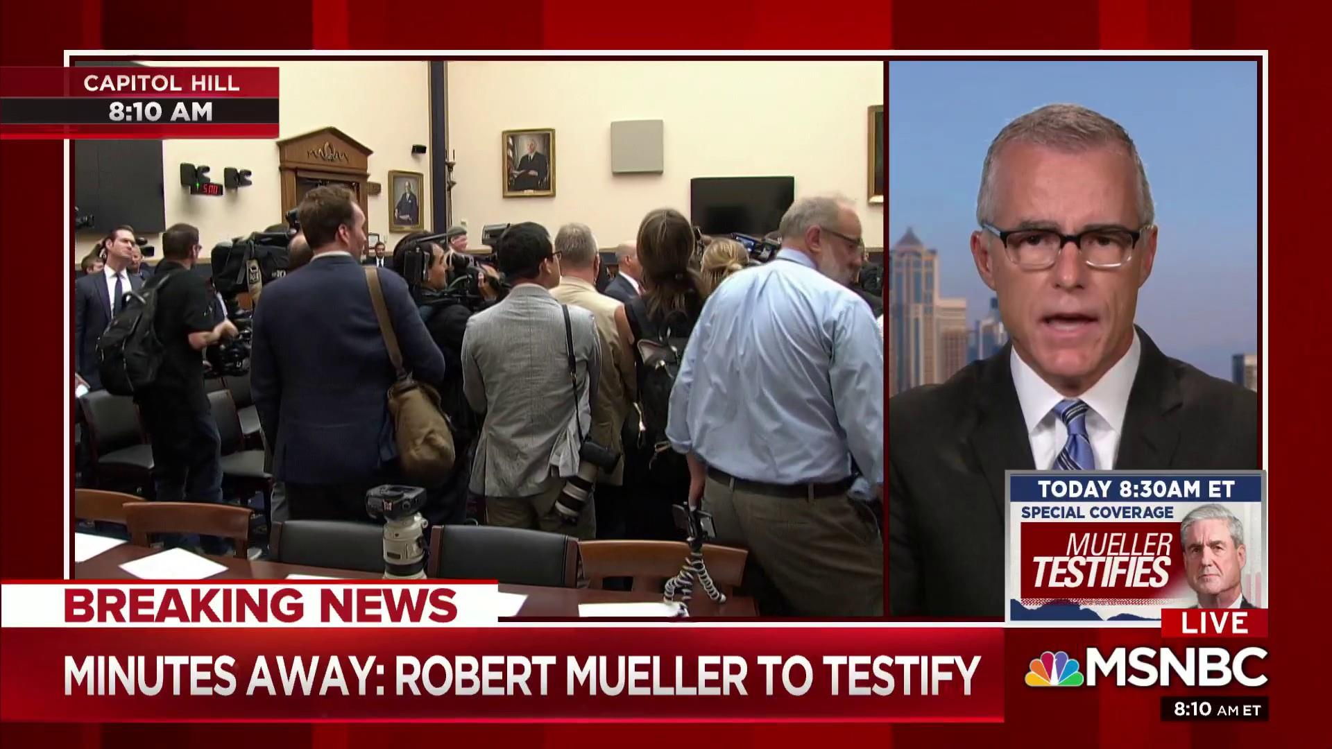 McCabe: Mueller will make every effort to stick to report