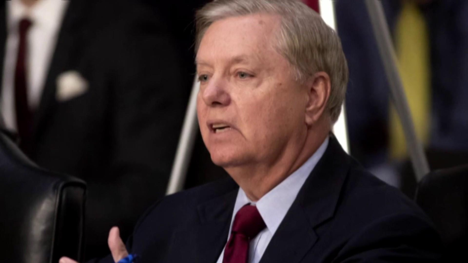 A new low for Sen. Graham and for GOP under Trump