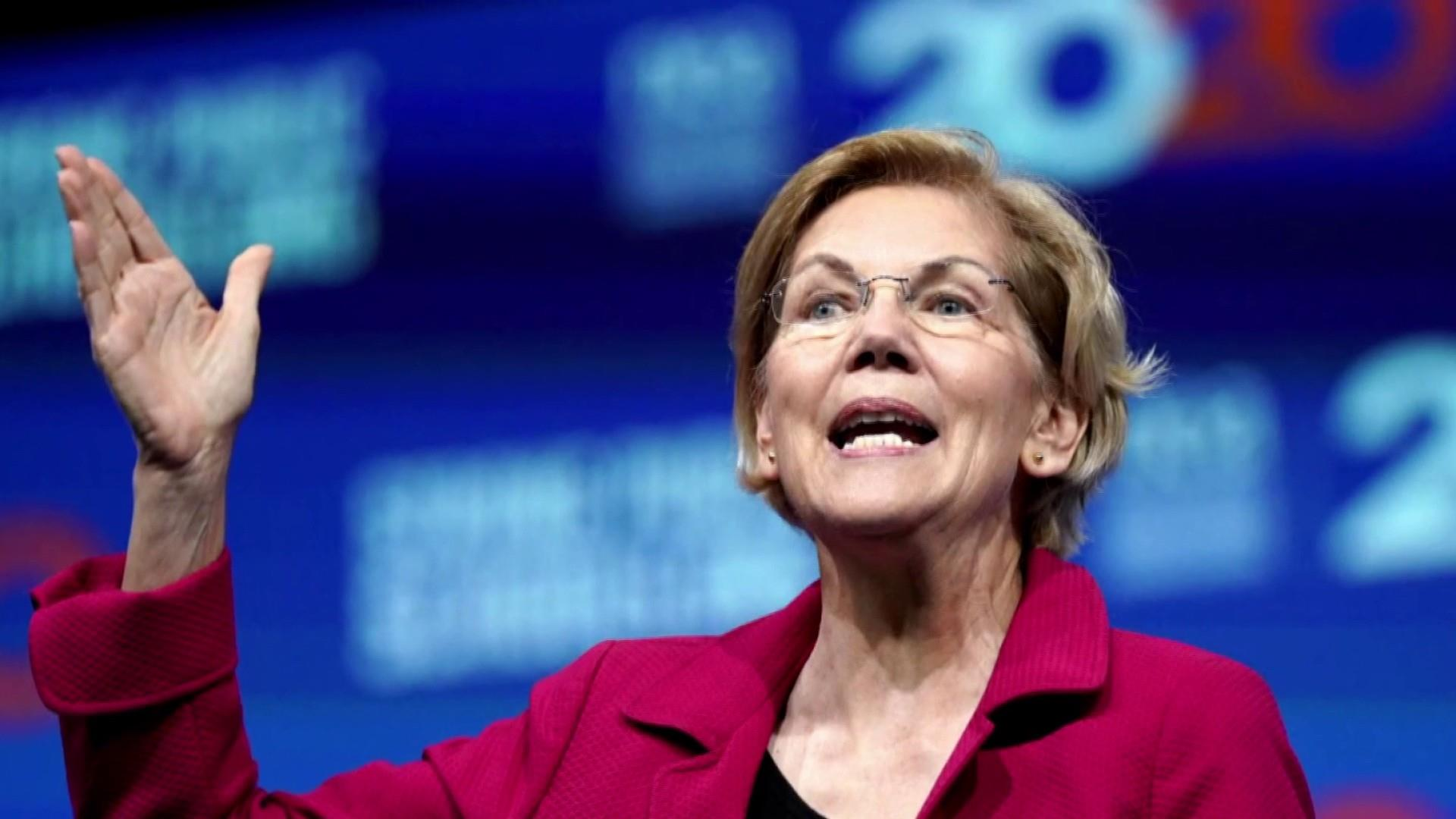 Sen. Warren raises $19.1M in the second quarter