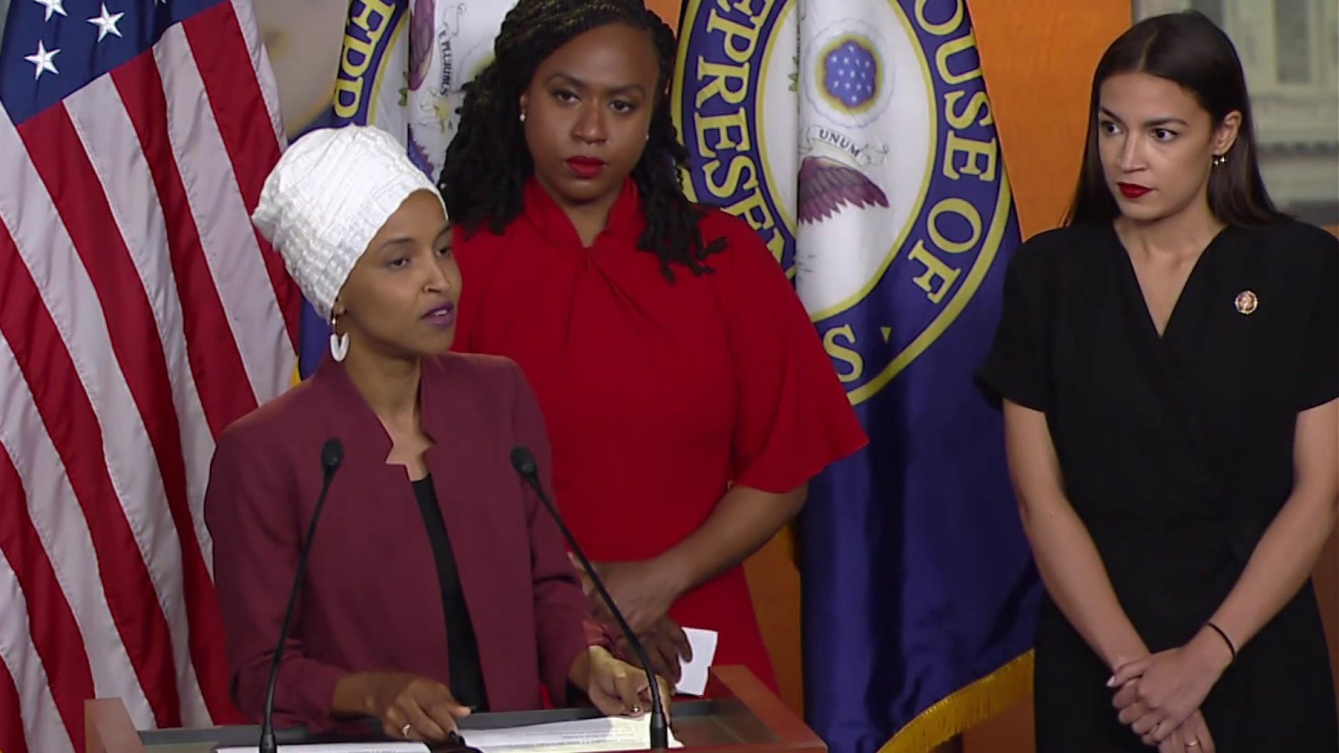 Omar: President is 'openly violating the oath he took to the Constitution'