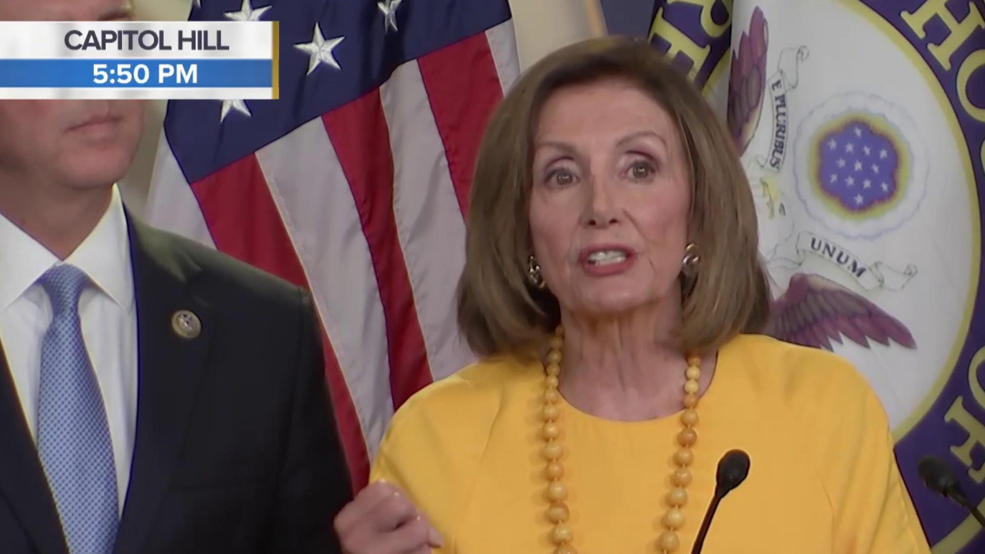 Pelosi: Democrats continue seeking 'grist for the mill to litigate in court'