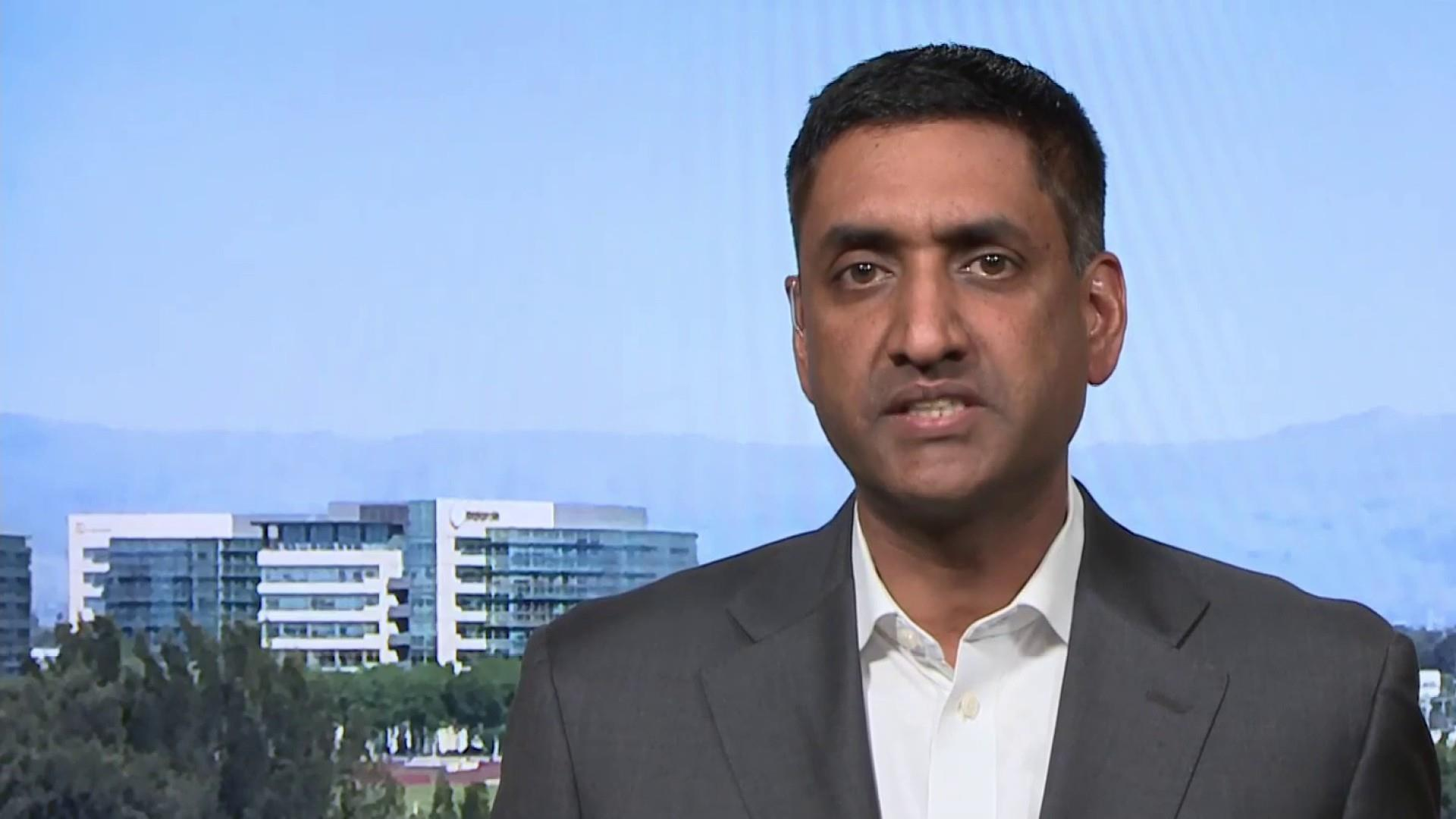 Full Khanna: Trump 'picked the wrong person' in going after Cummings