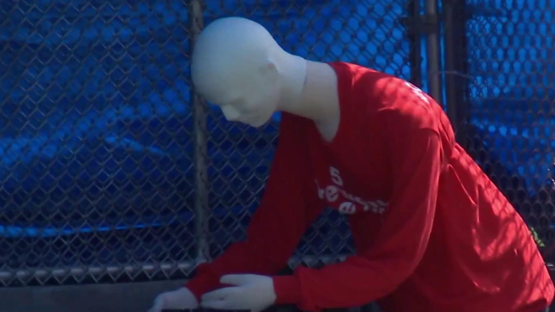 Government continues to blow up mannequins