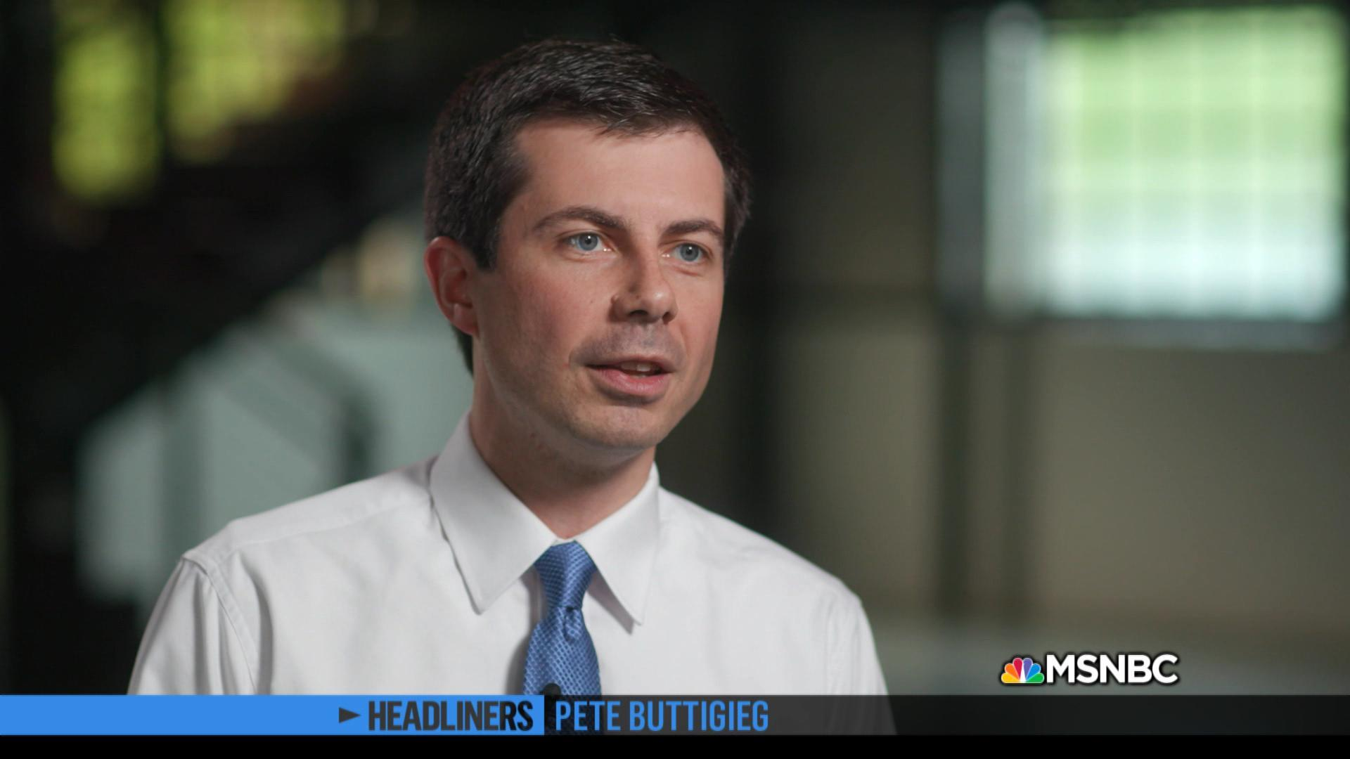 'Headliners: Pete Buttigieg' On Military Service