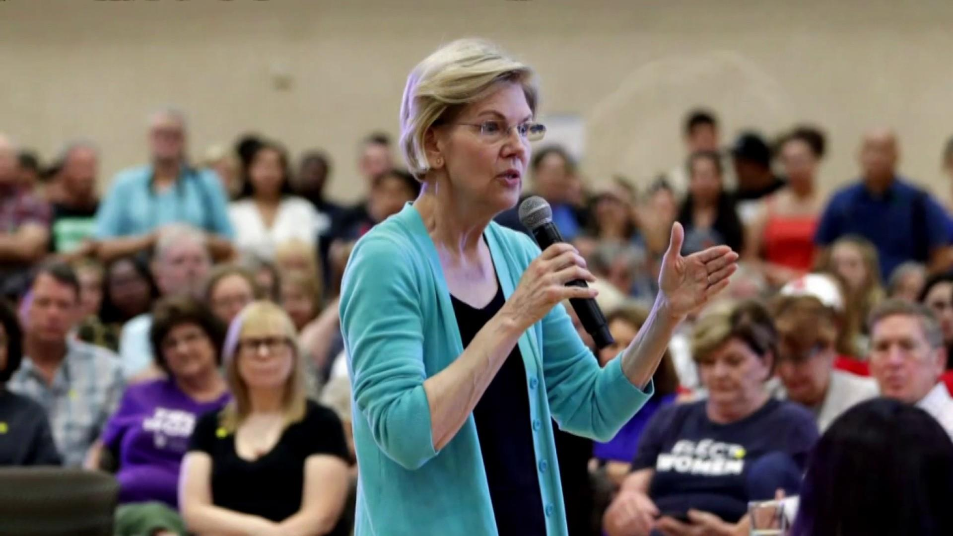 Warren announces major fundraising milestone days before debate