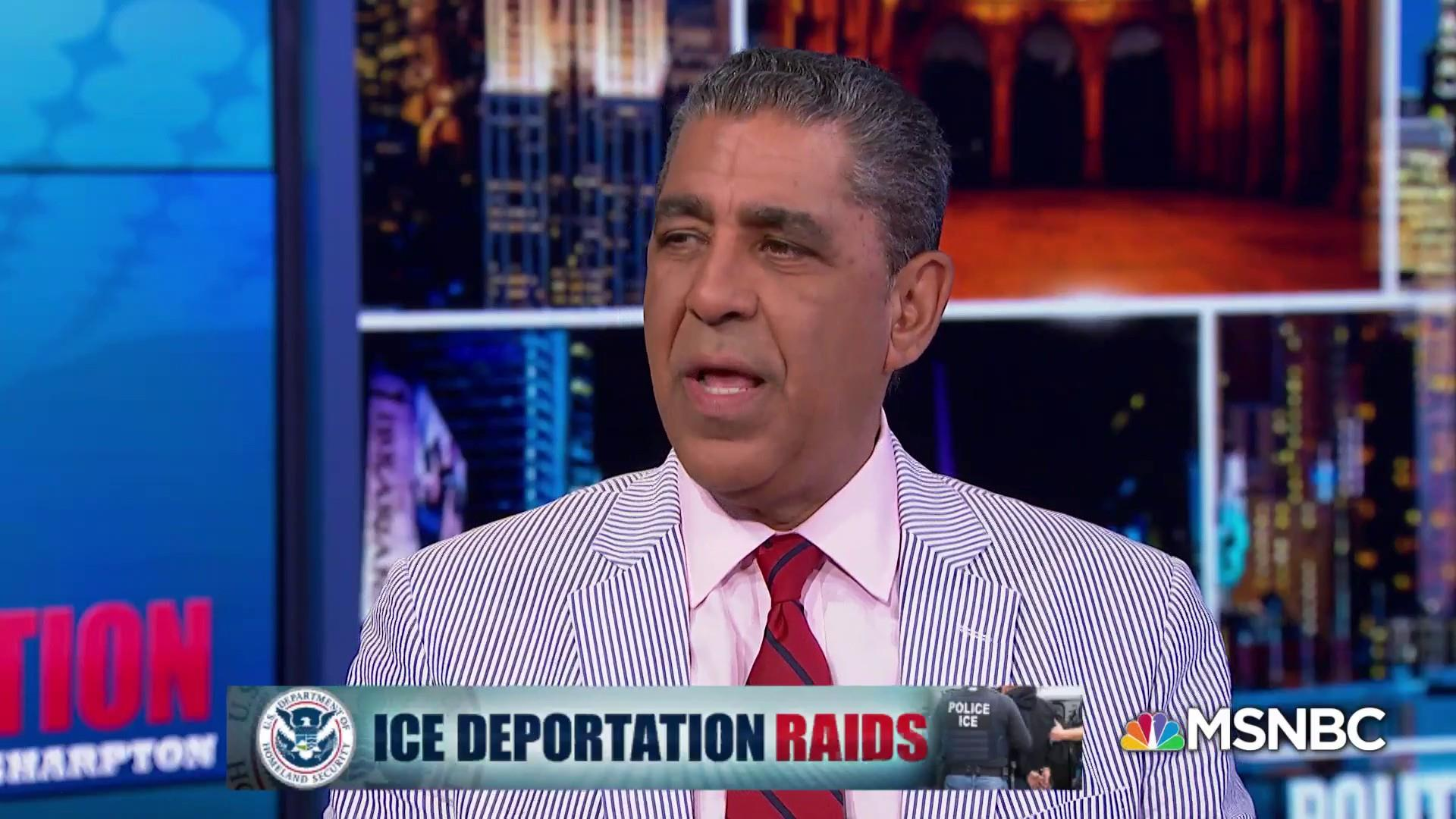 Rep. Adriano Espaillat on ICE Raids: 'We should be Ashamed'