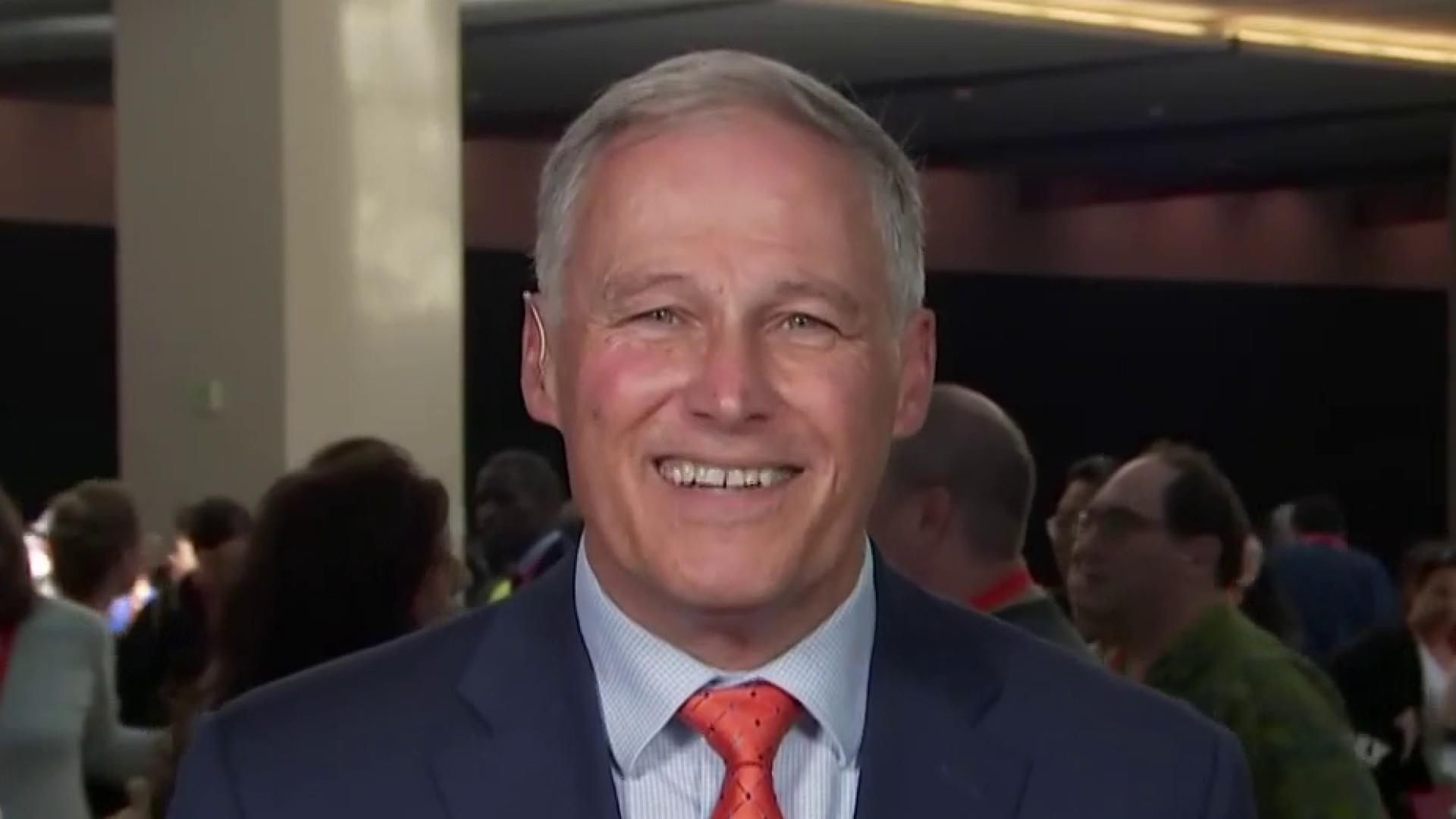 Gov. Jay Inslee: 'We need to make Donald Trump a blip in history.'