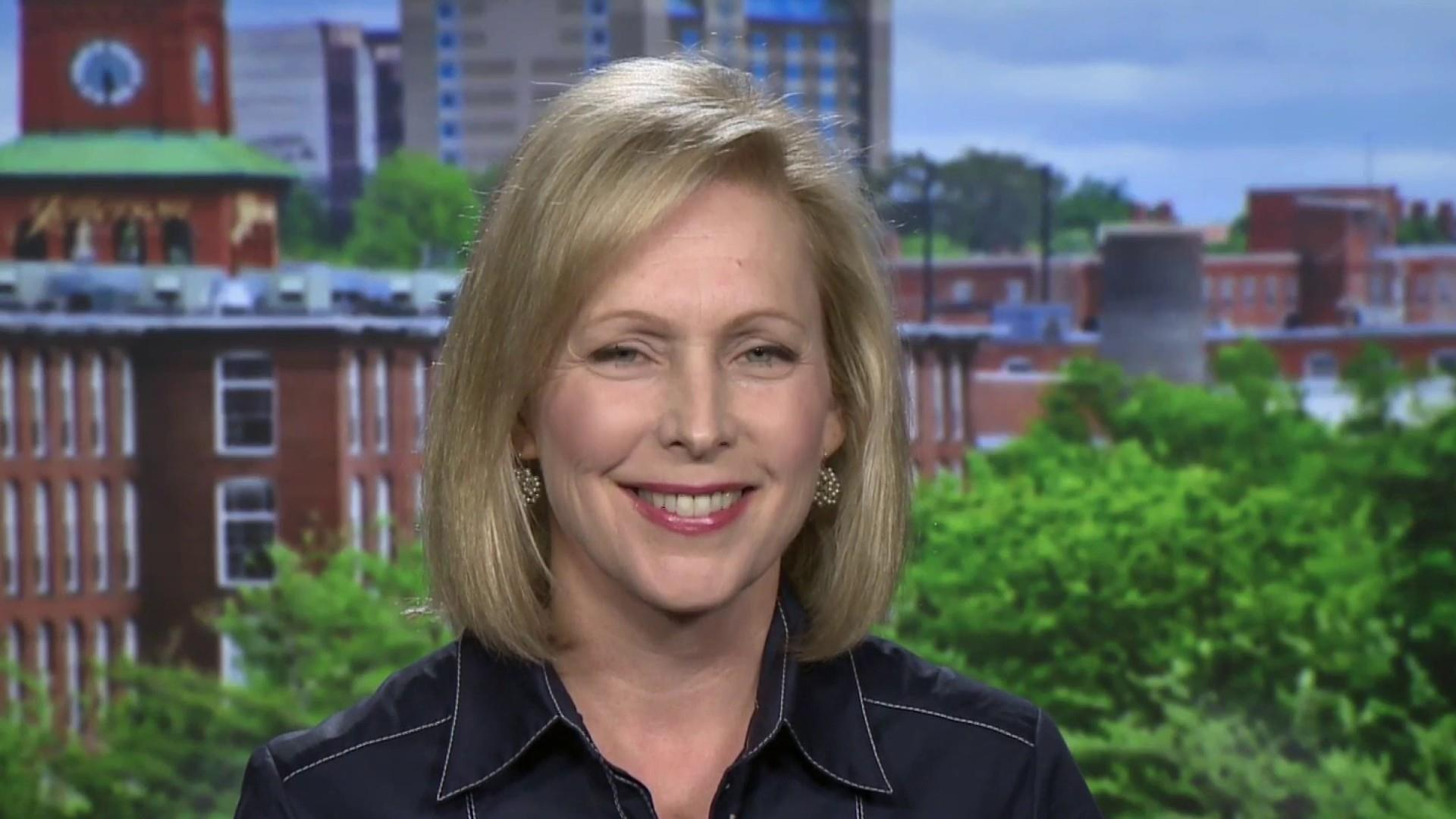 Gillibrand on Biden: I don't think it should be so hard to apologize
