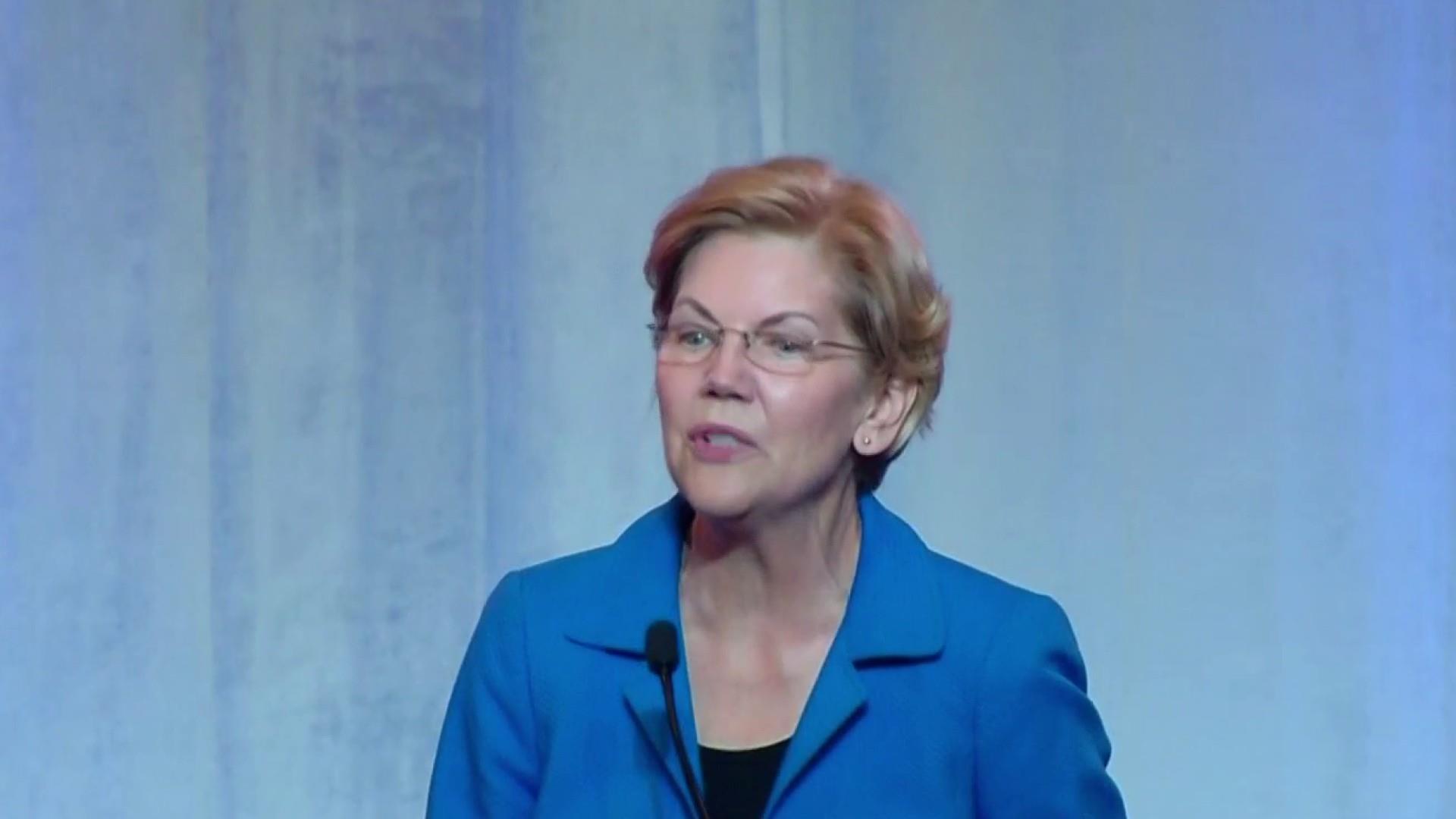 Warren's latest plan targets a familiar foe: Wall Street