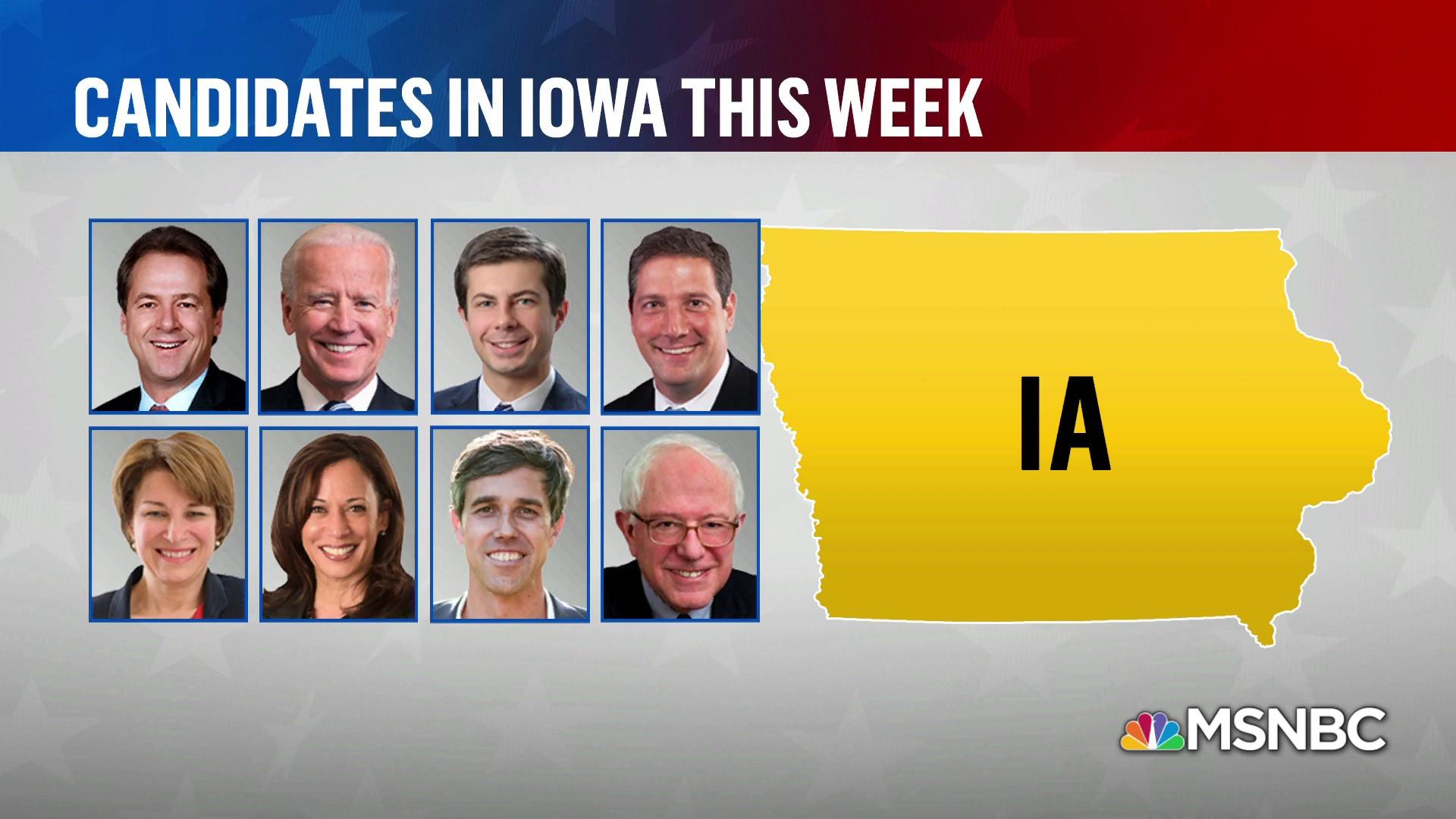 The importance of books and Iowa for 2020 candidates