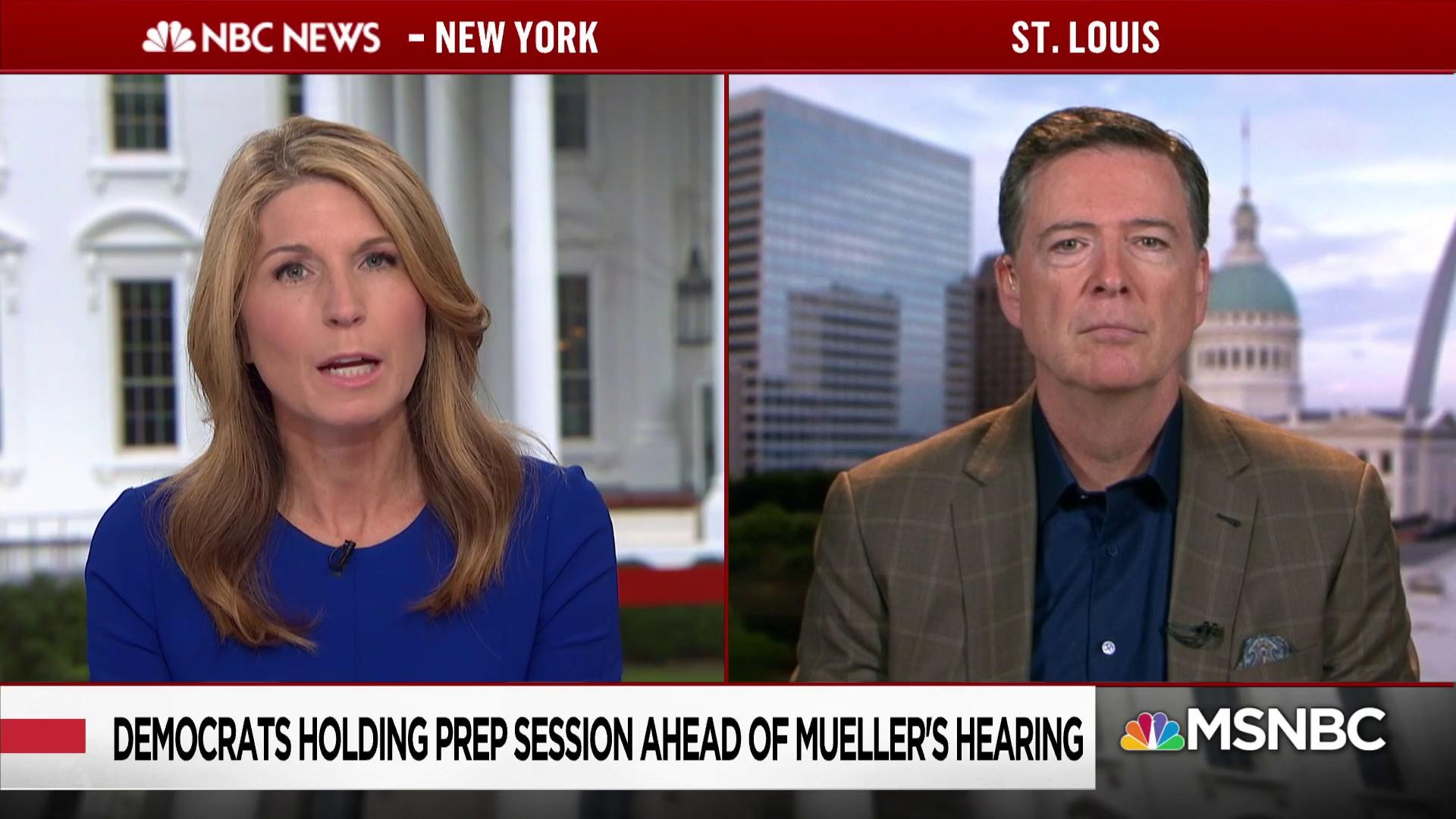 Comey: 'If this were a case about somebody other than the president, they'd already have been indicted'