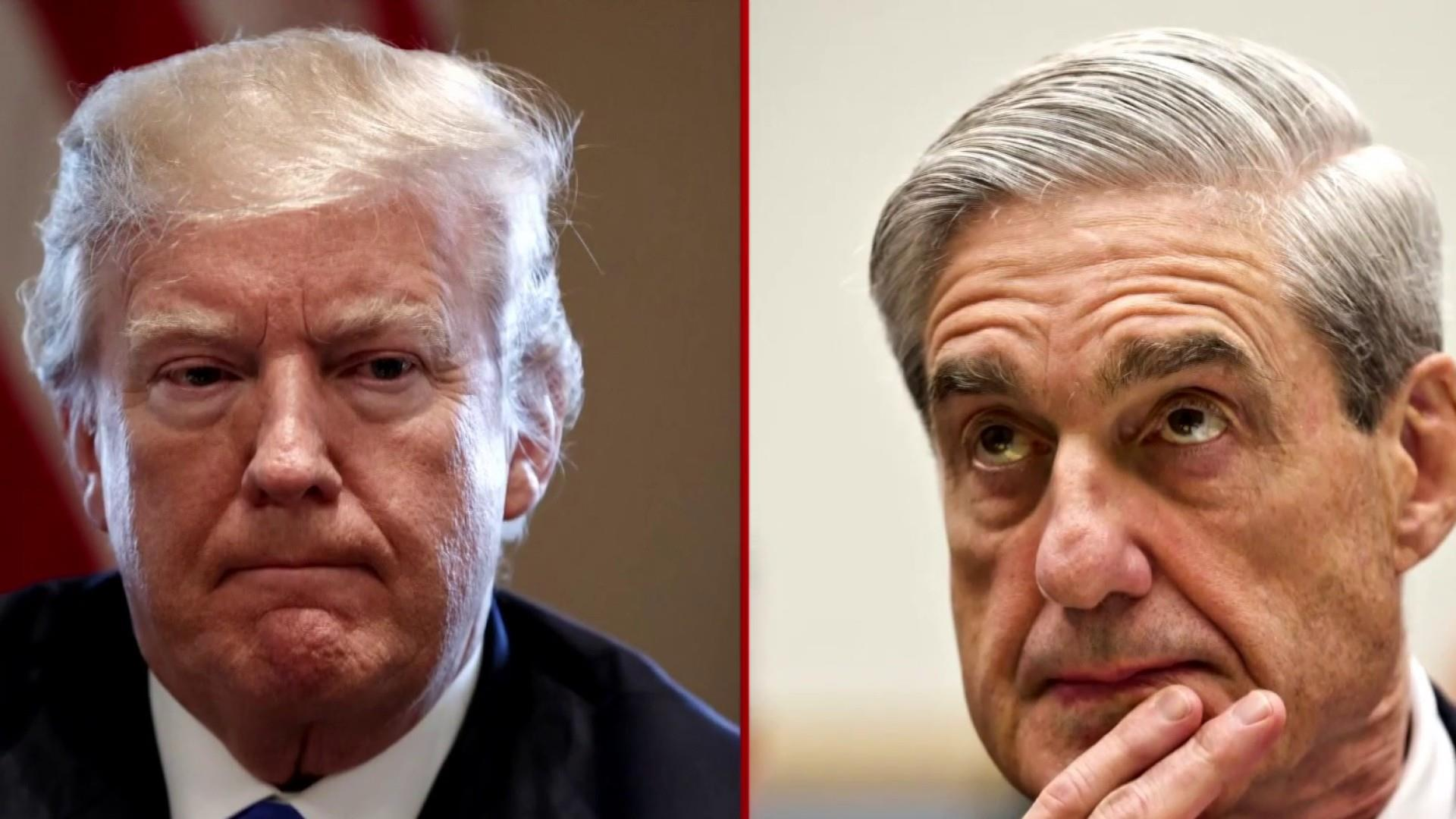 Mueller clearly on Trump's mind