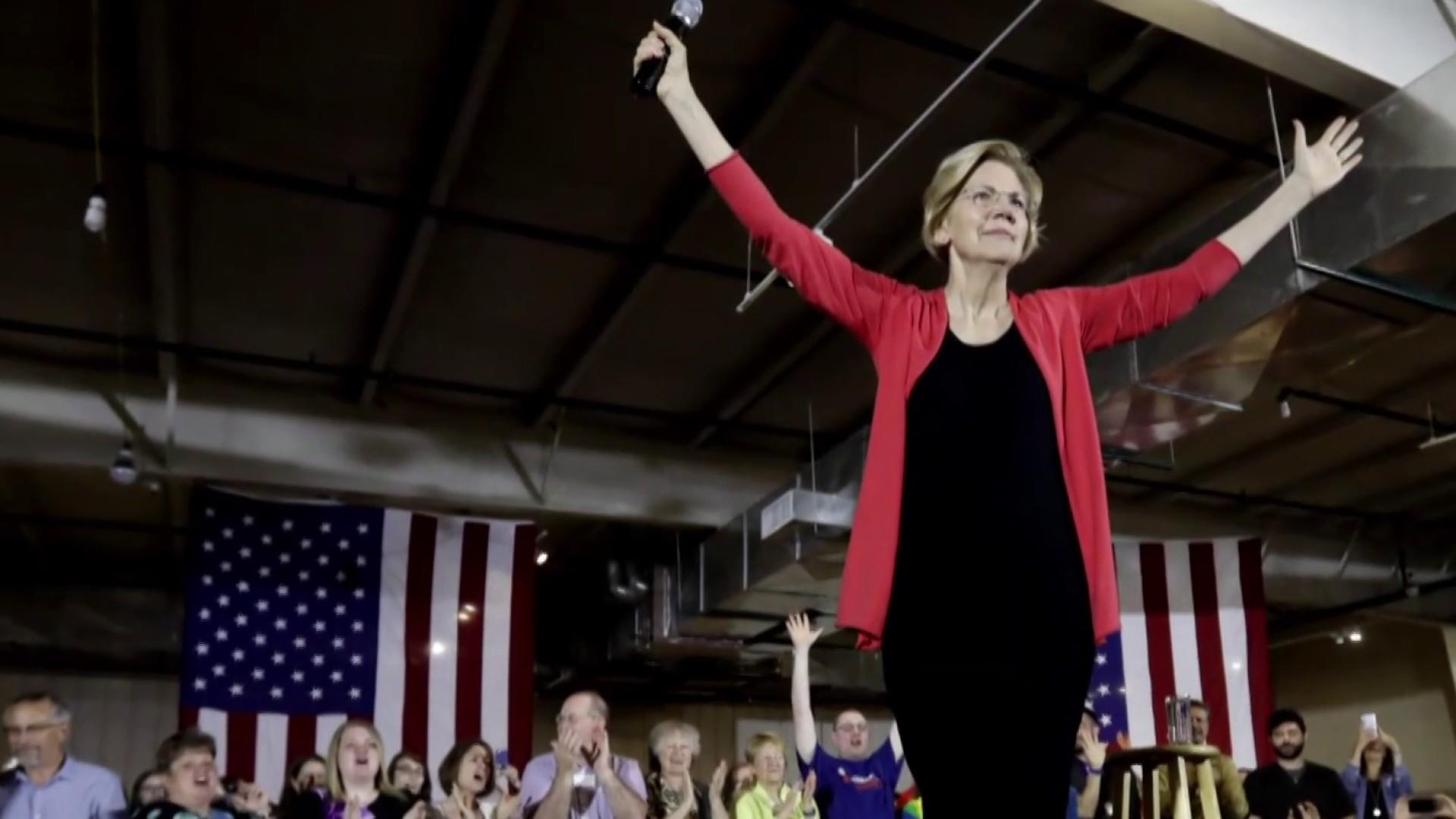 Elizabeth Warren is taking chances, and they seem to be paying off