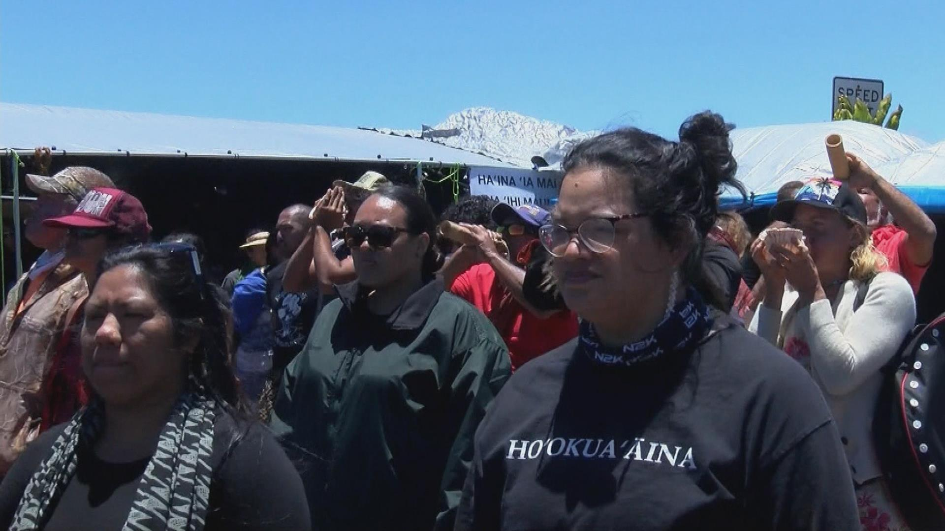 Hawaii governor withdraws emergency order for telescope protesters