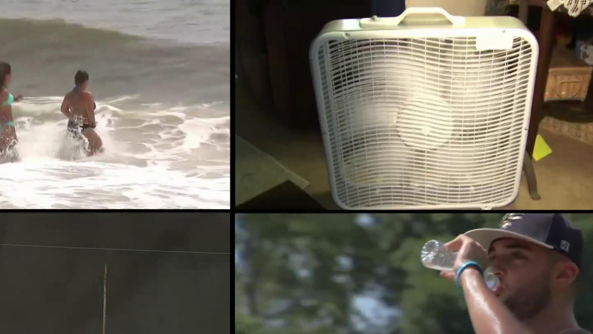 Heat wave blazes on: At least 3 people in Maryland and Arkansas die due to scorching weather