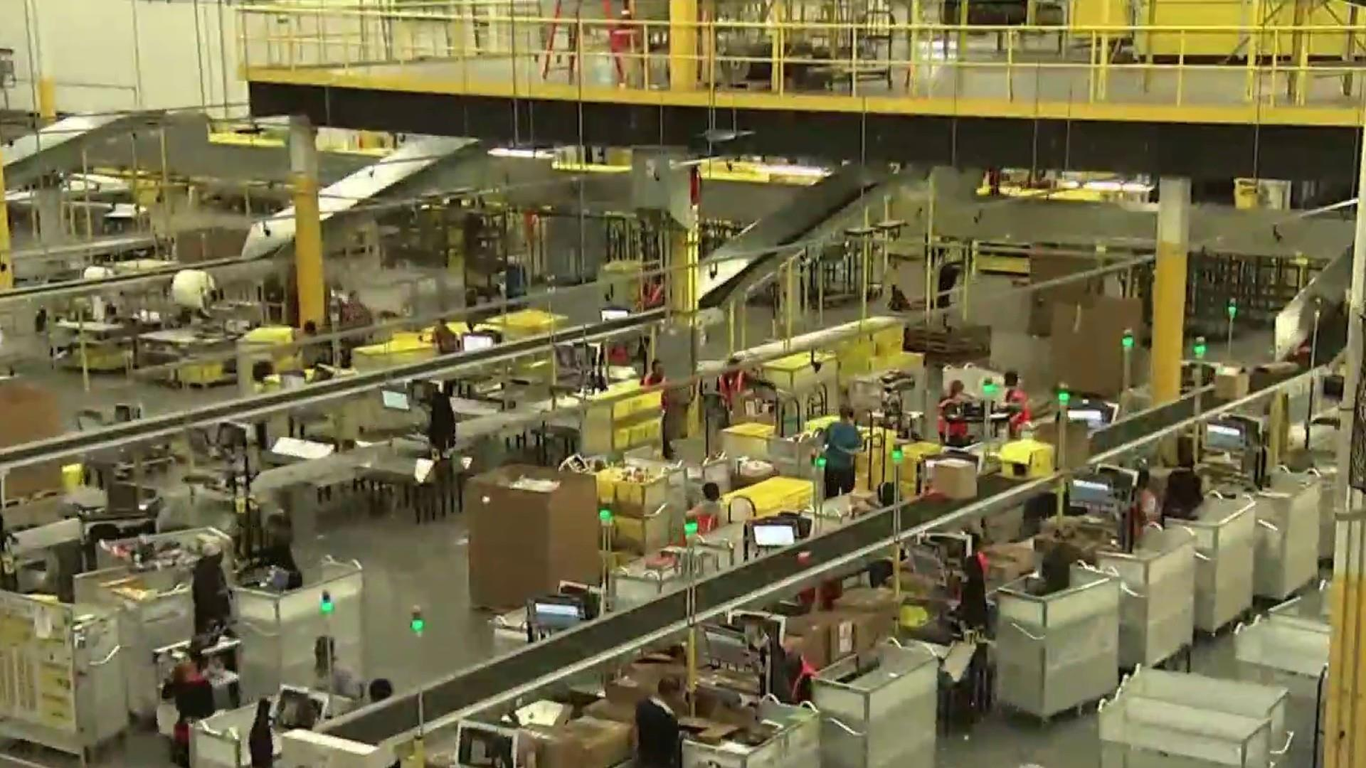 Some Amazon workers go on strike as Prime Day begins