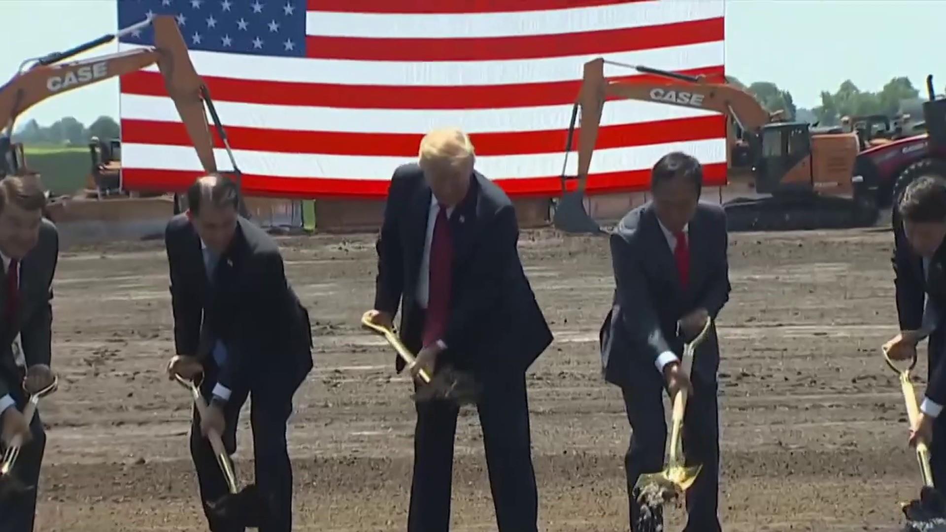 Town residents claim Trump's FoxConn factory deal failed them