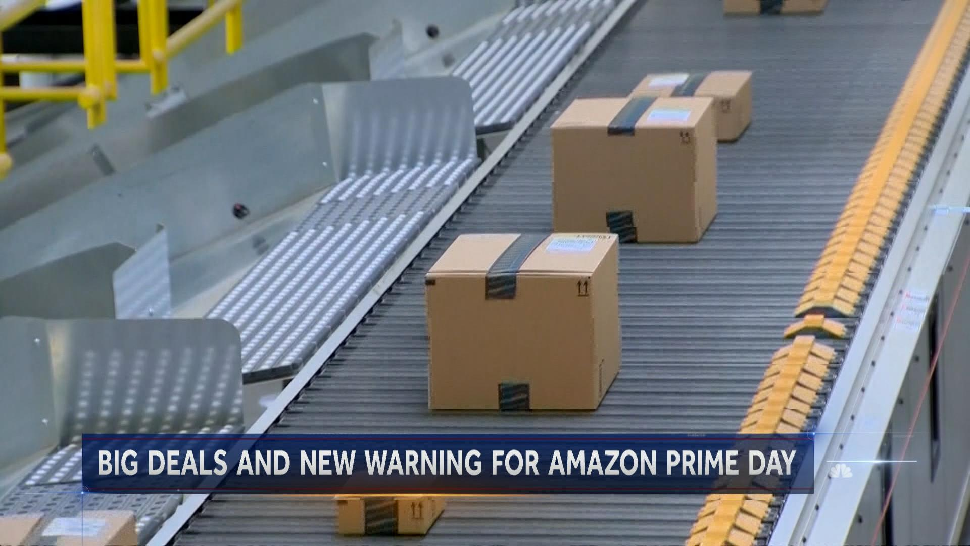 Amazon Prime Day is here, but experts say shop with caution