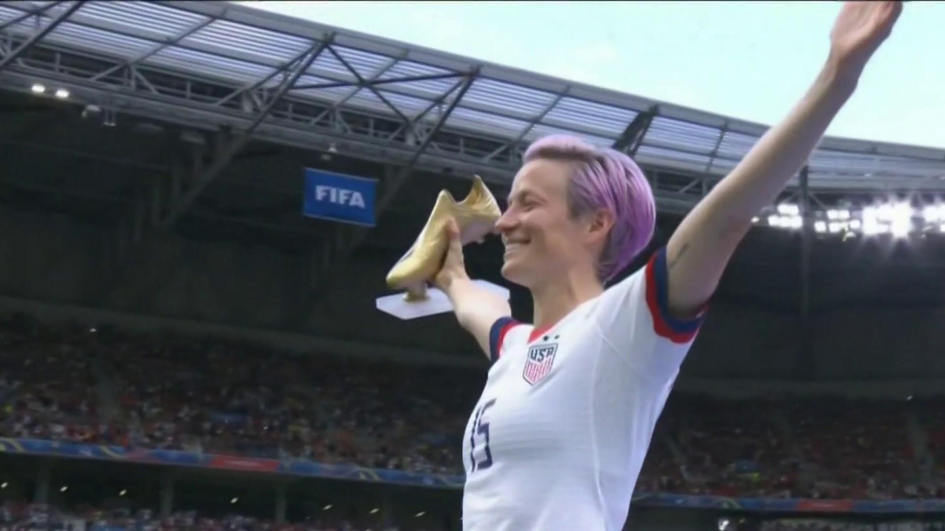 U.S. women's soccer team wins 2019 World Cup over the Netherlands in 2-0 final