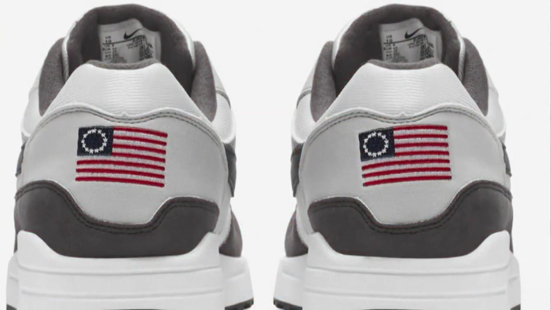 Arizona Gov. Ducey has change of heart for Nike following Betsy Ross flag controversy