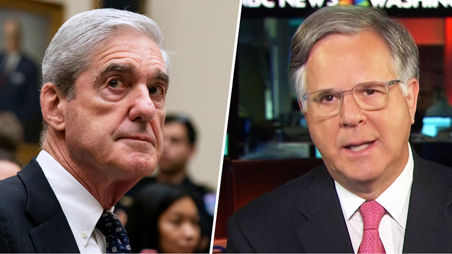 Pete Williams reviews Robert Mueller's hearing appearance so far