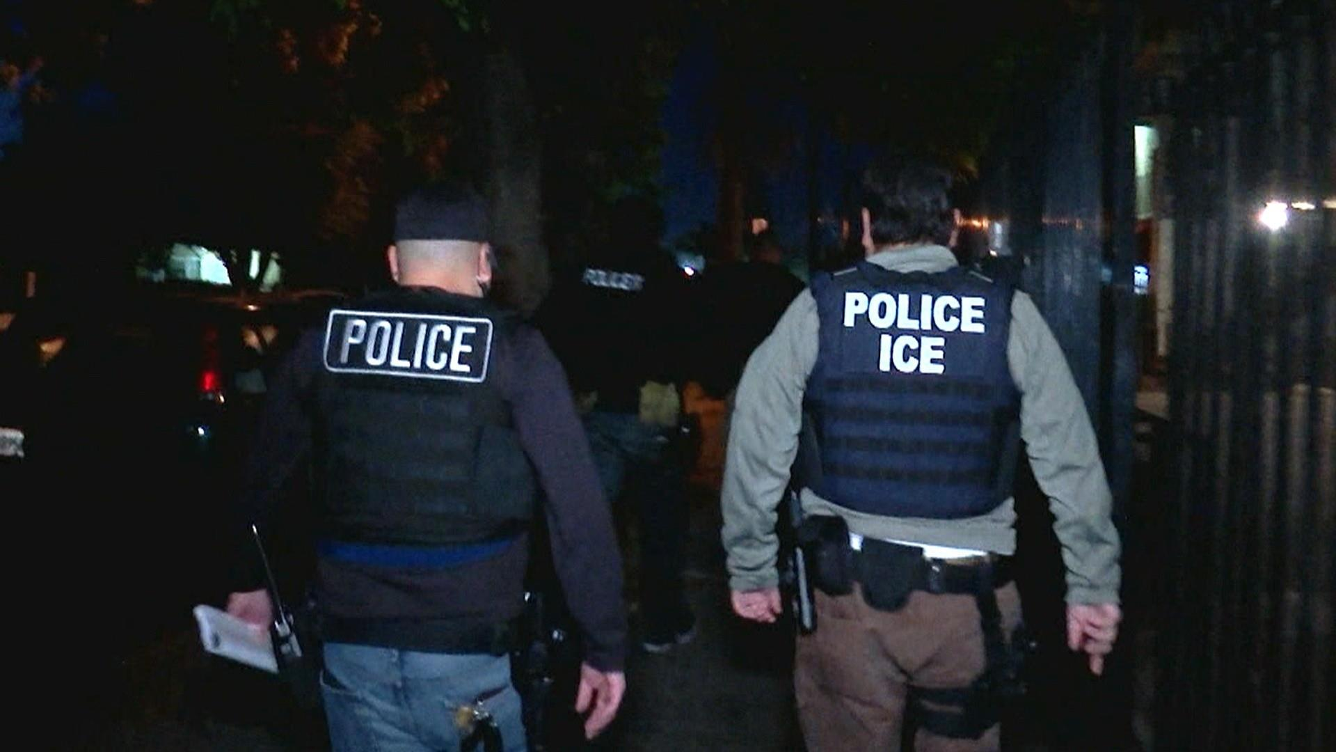 ICE raids begin at slow pace