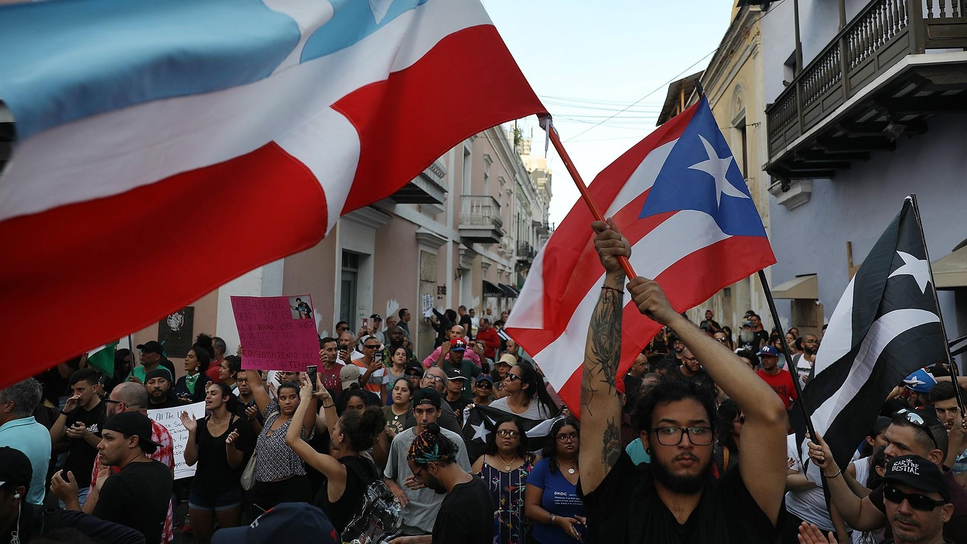 Royal Caribbean cancels two Puerto Rico stops over protests sparked by political scandal