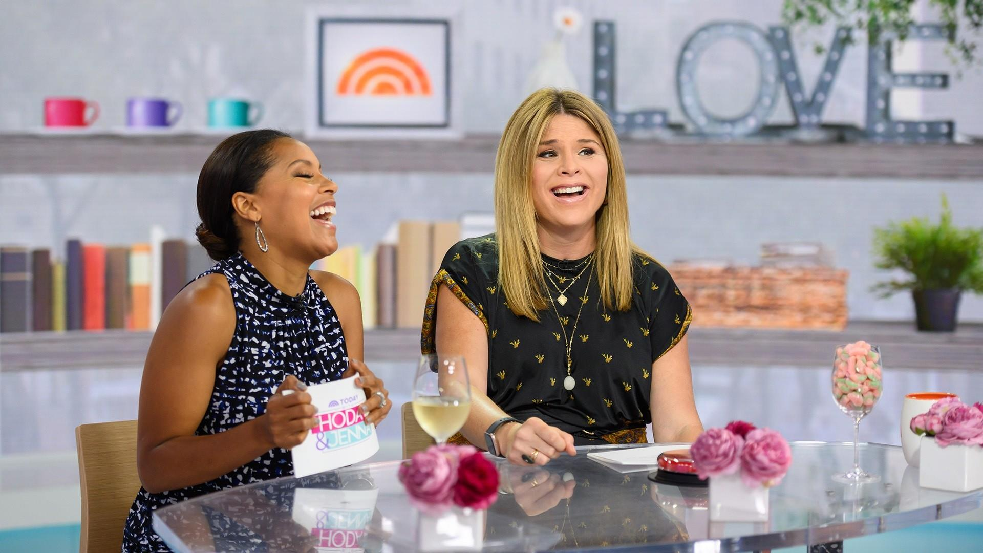 Jenna and Sheinelle share their most used emoji