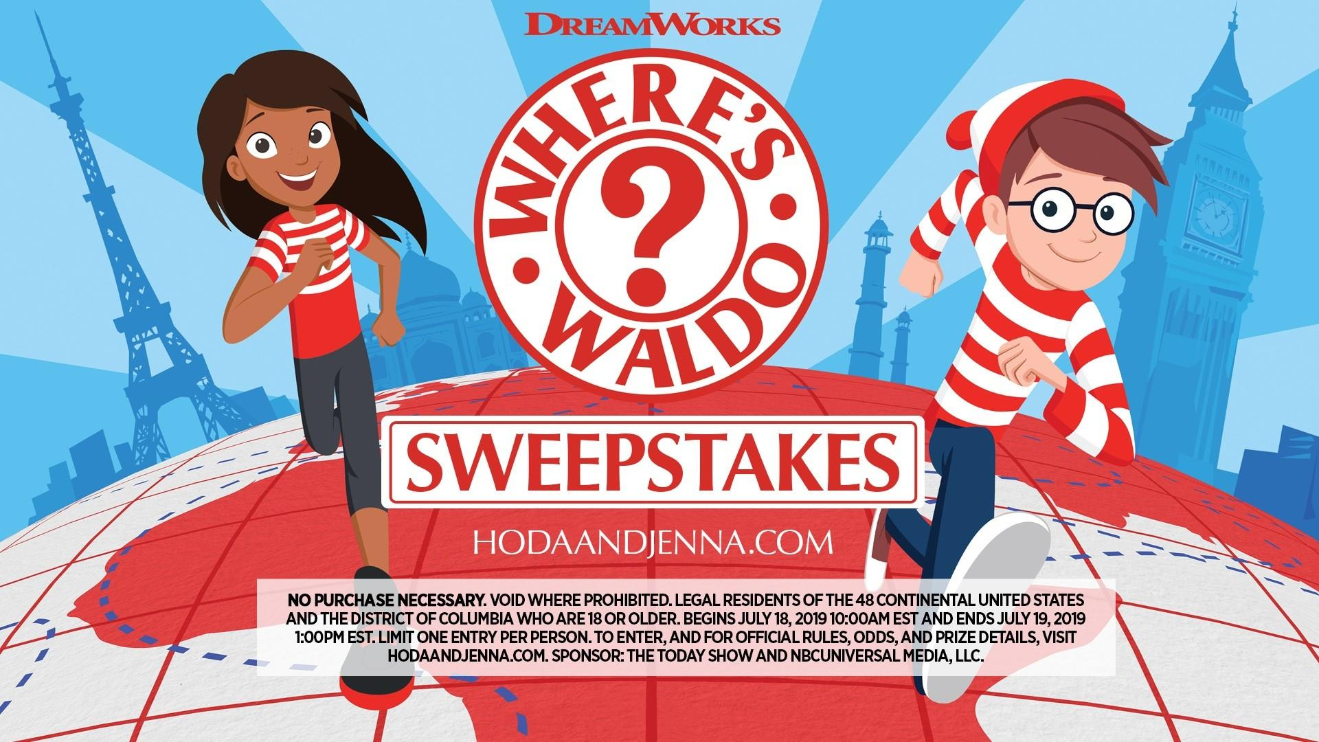Enter our Where's Waldo sweepstakes for a chance to go to Orlando