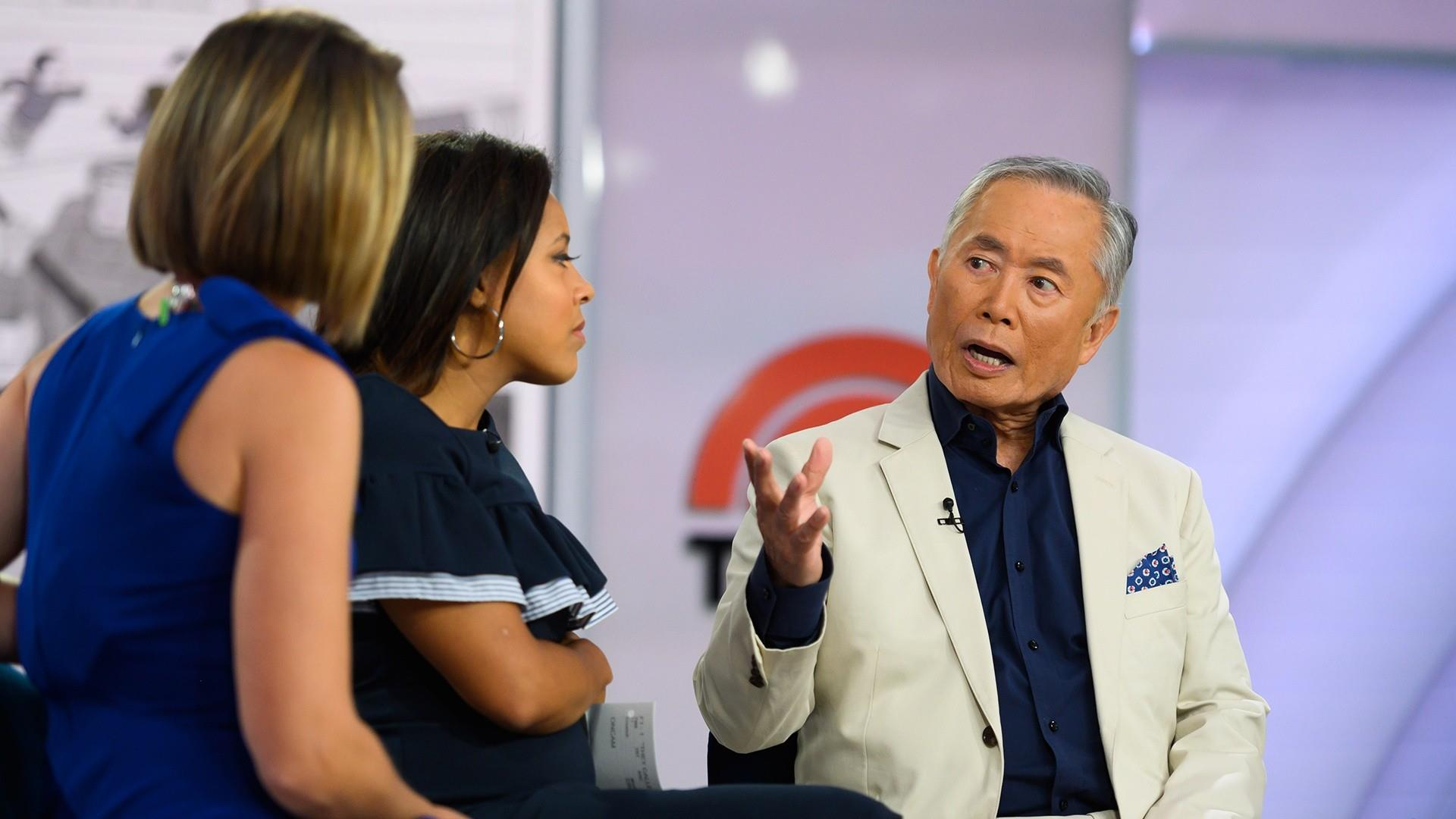 George Takei opens up about his family's imprisonment during WWII